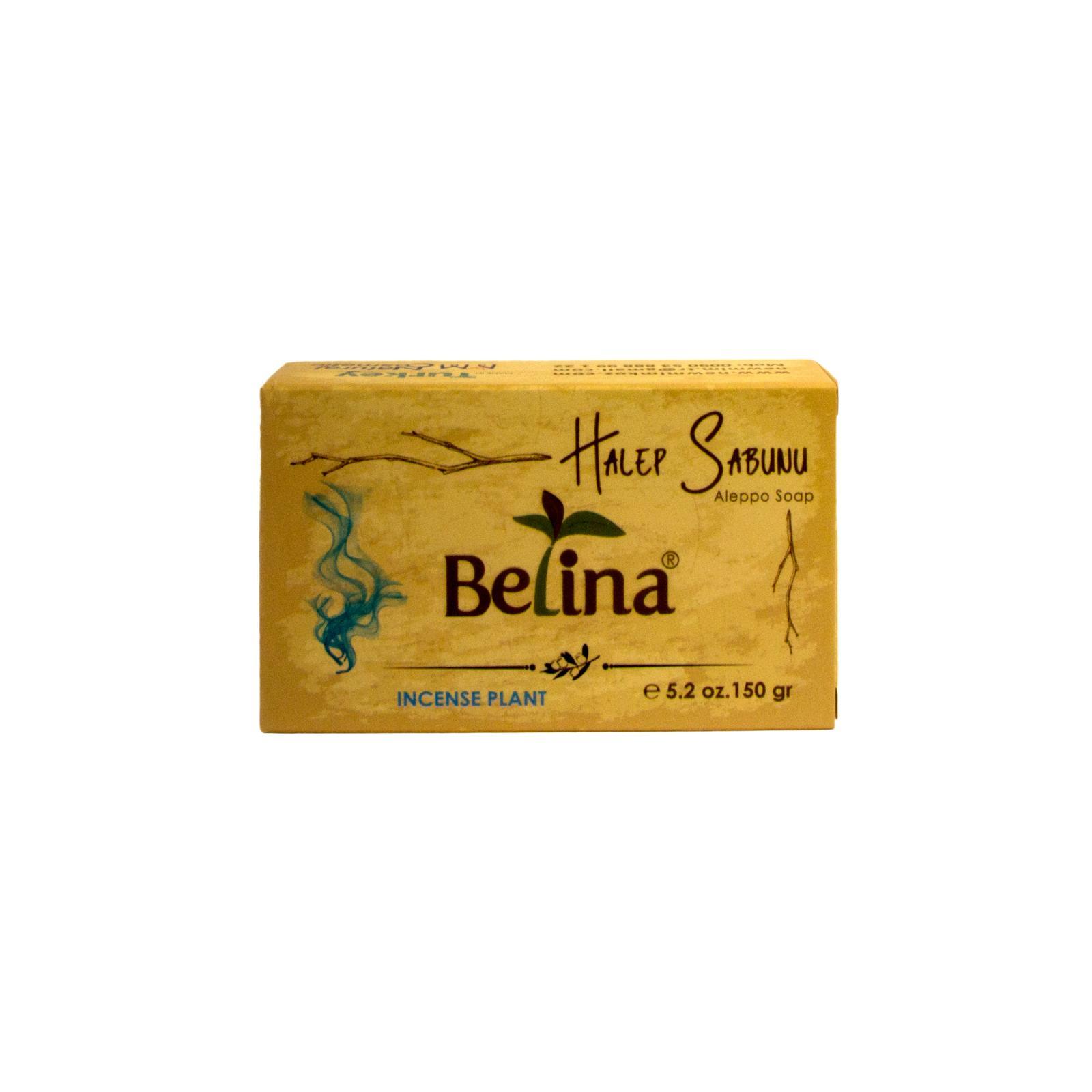 Belina Aleppské mýdlo oválné, Incense Plant 150 g