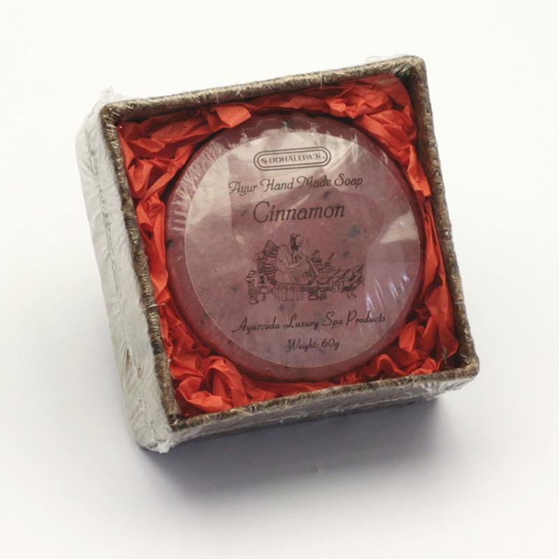 Siddhalepa Mýdlo Cinnamon, Ayurveda Luxury Spa 60 g