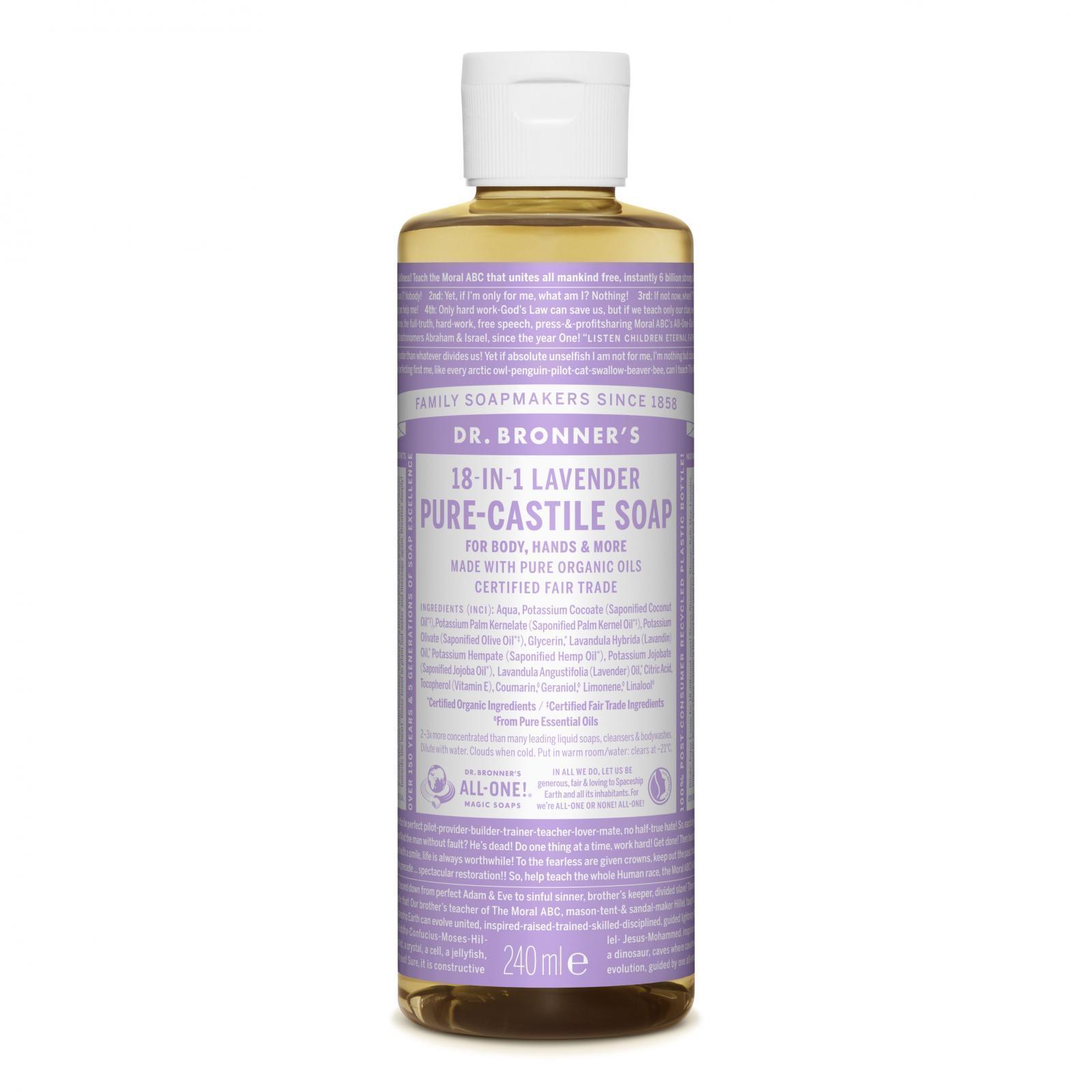 Dr. Bronner´s Tekuté universální mýdlo ALL-ONE!, Lavender 240 ml