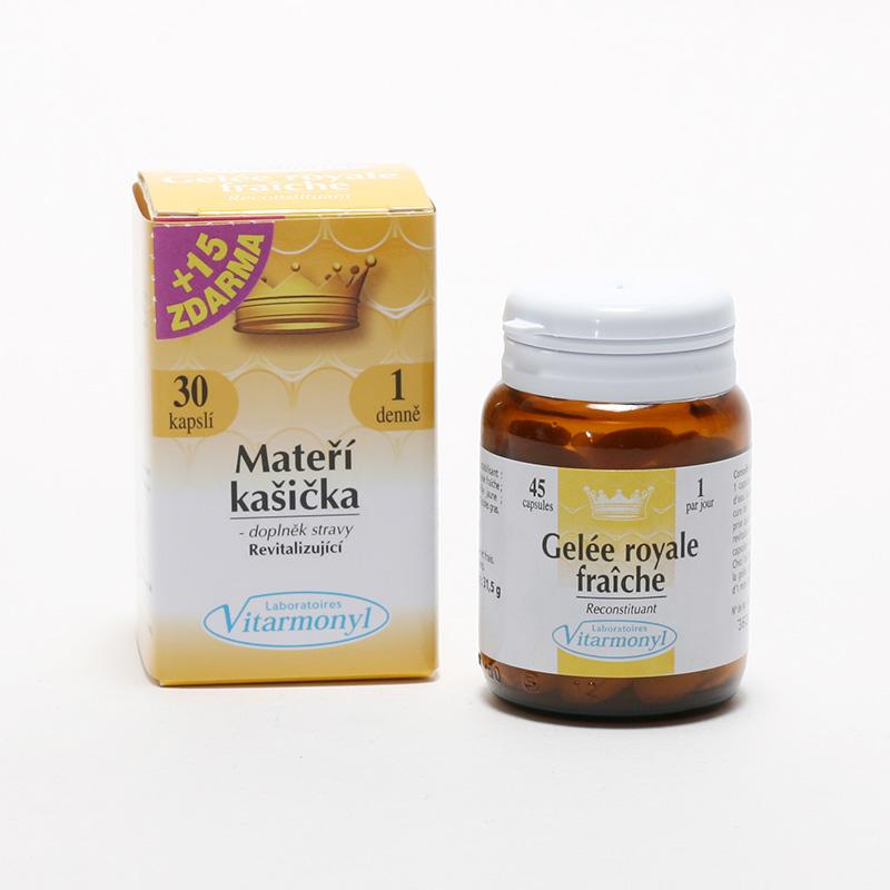 Laboratoires Vitarmonyl Mateří kašička 30 kapslí, 21 g
