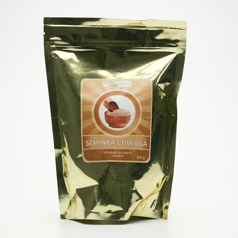Aida Organic Chia semínka bílá 500 g