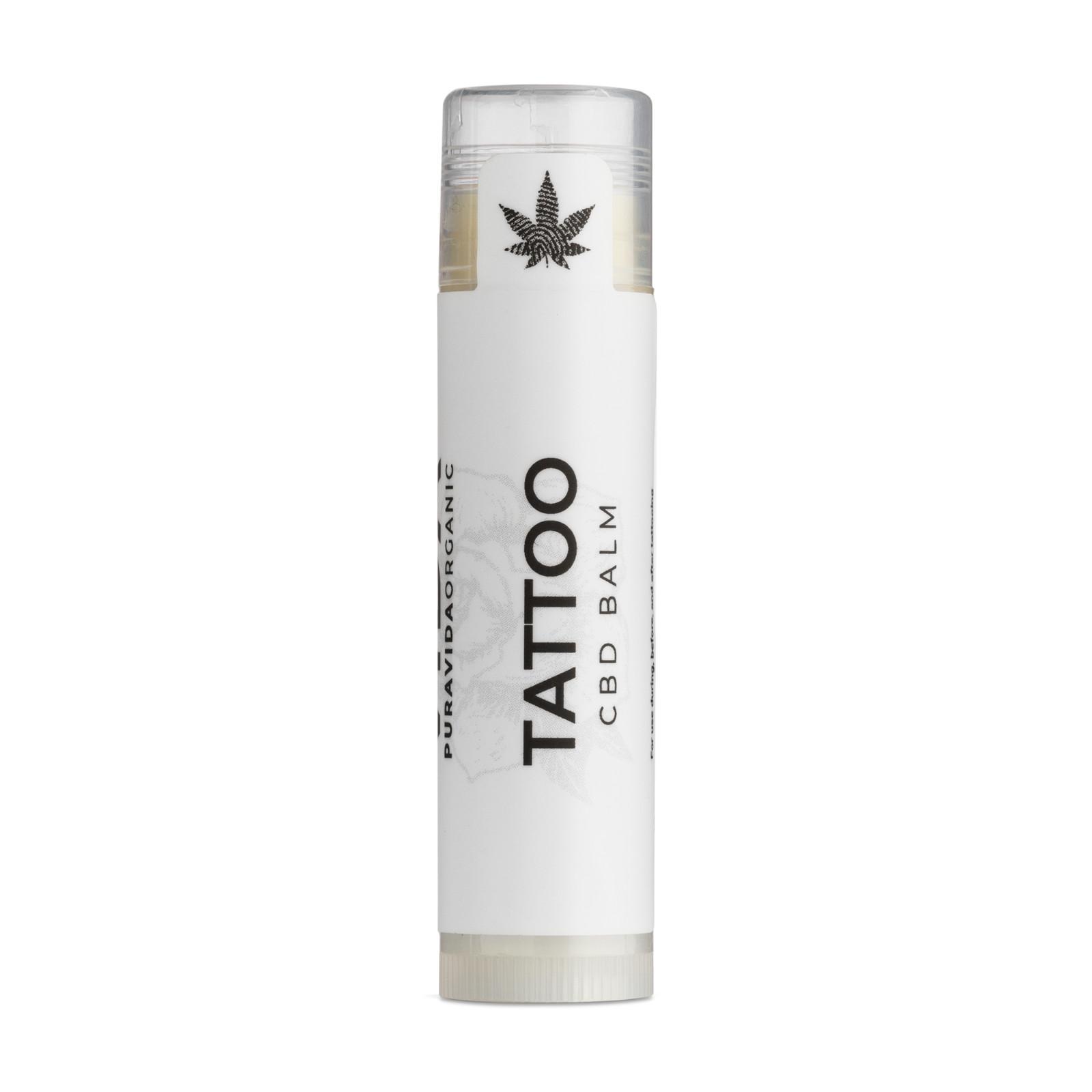 Pura Vida Organic CBD Balzám, Tattoo, 15 mg 5 ml