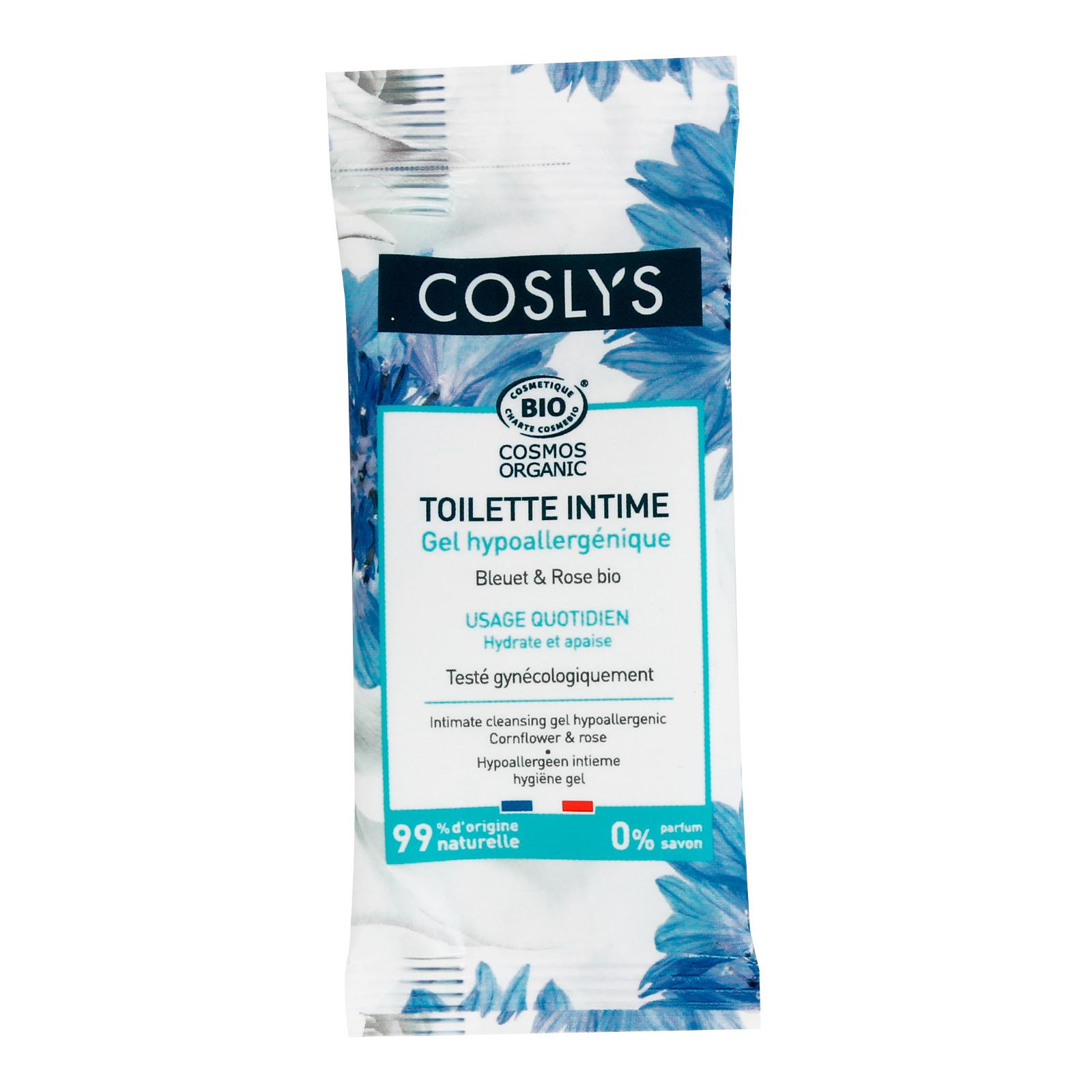 Coslys Intimní mycí gel bez parfemace 8 ml