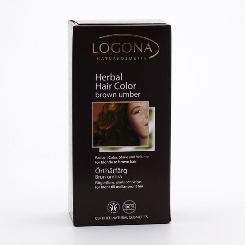 Logona Barva na vlasy, henna hnědá umbrijská 100 g