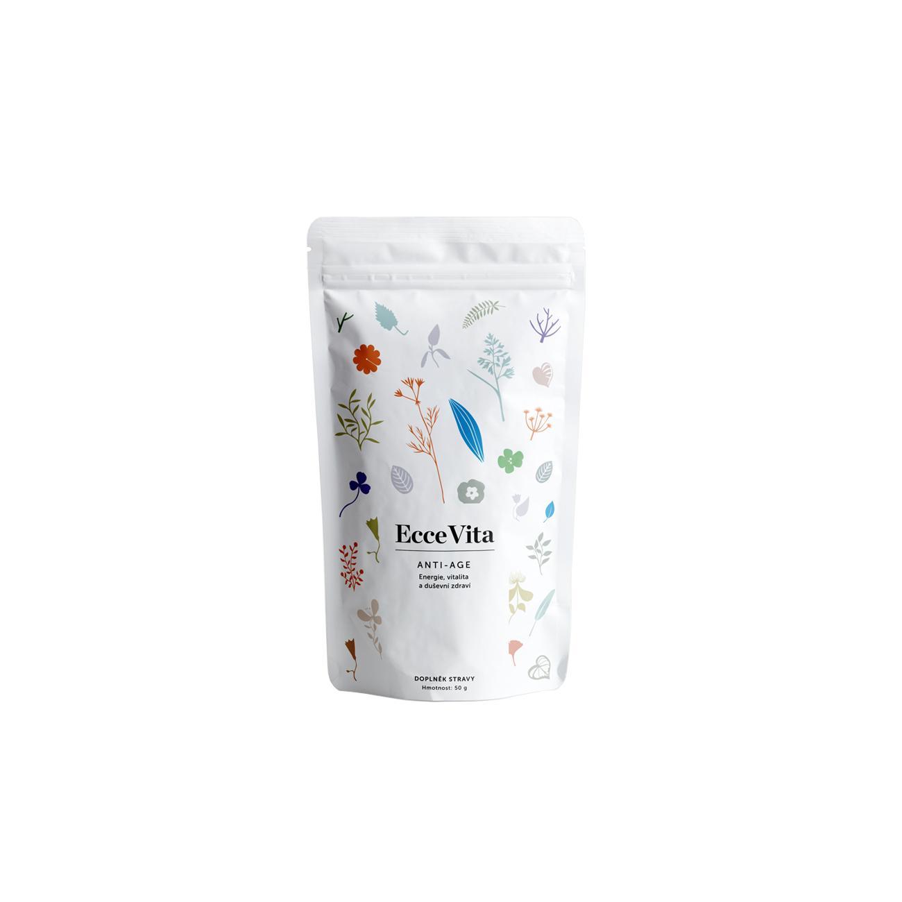 Ecce Vita Bylinný čaj Anti-age 50 g