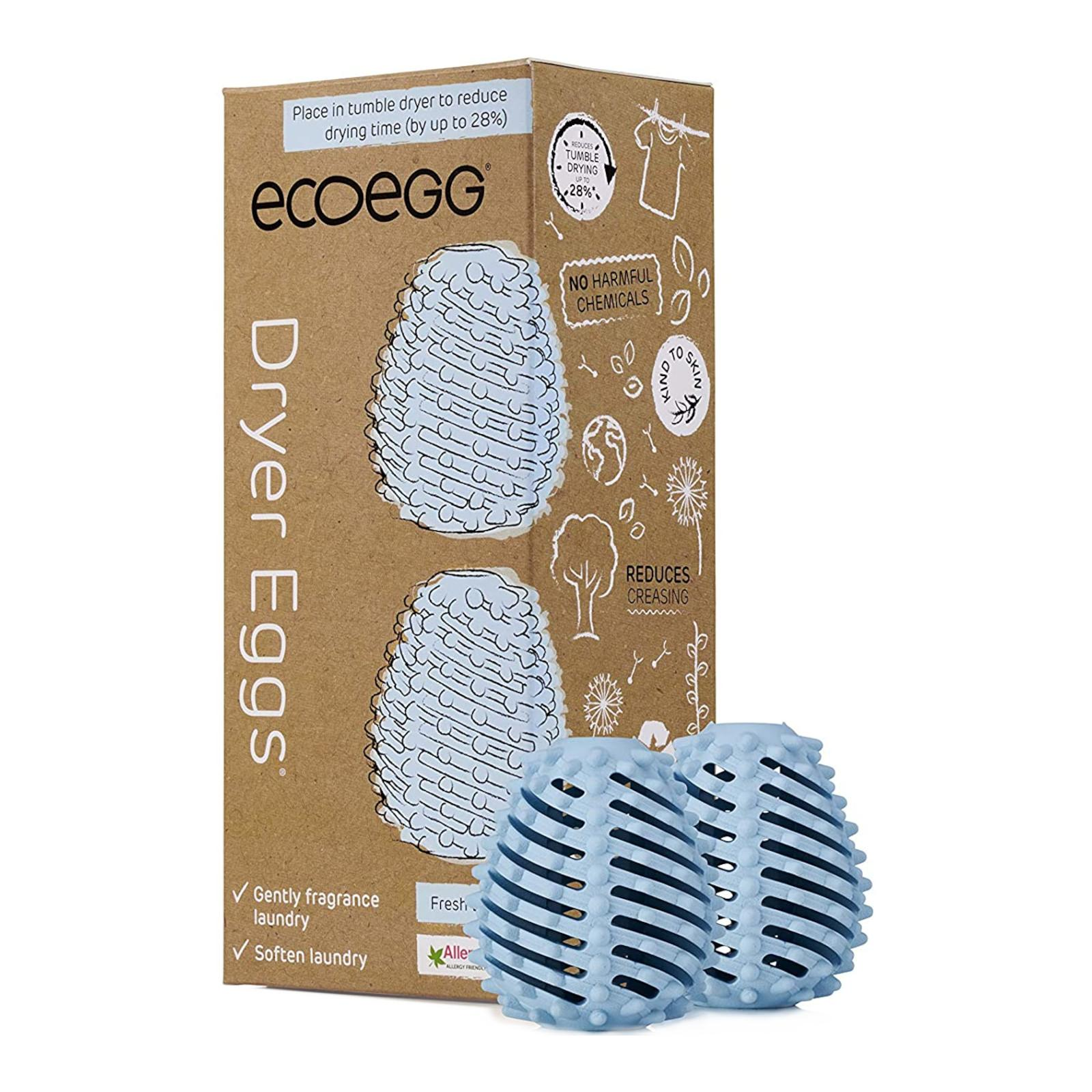 Ecoegg Vajíčko do sušičky 2 ks, svěží bavlna