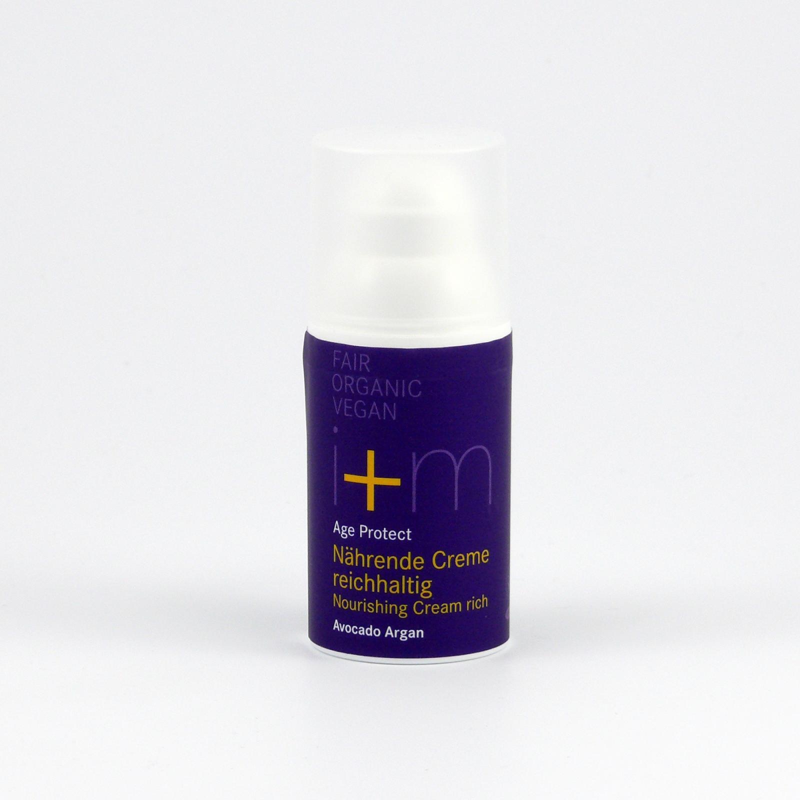 I+M Naturkosmetik Intenzivní krém Age-Protect 30 ml