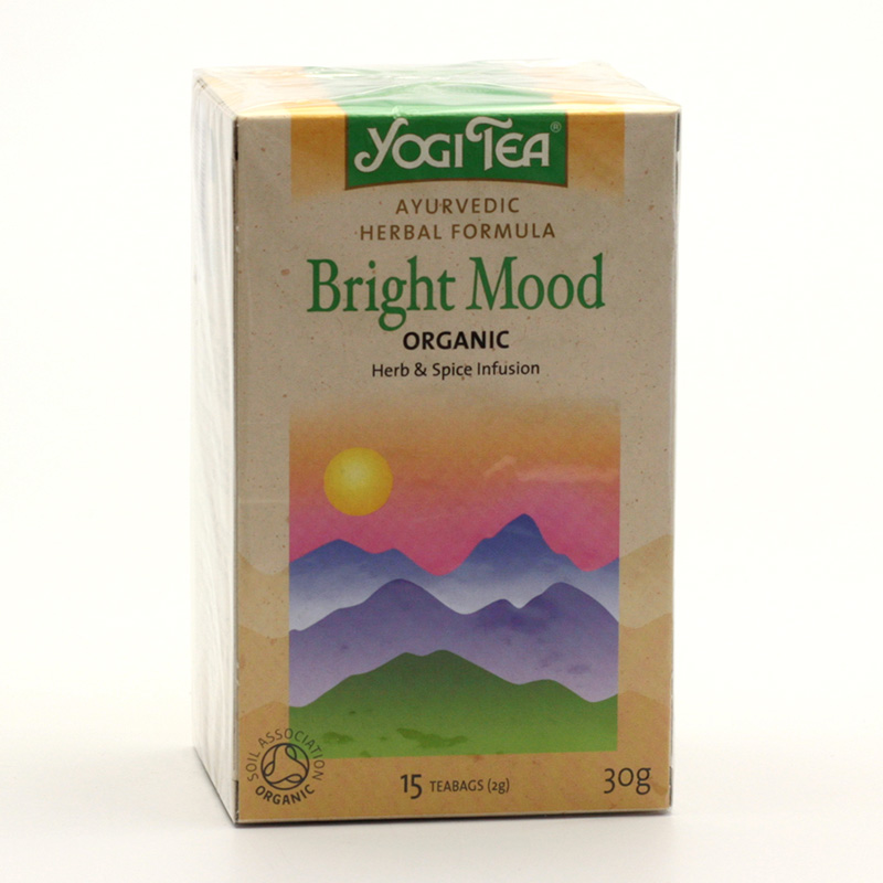 Golden Temple Čaj Yogitea Bright Mood 17 ks, 30 g