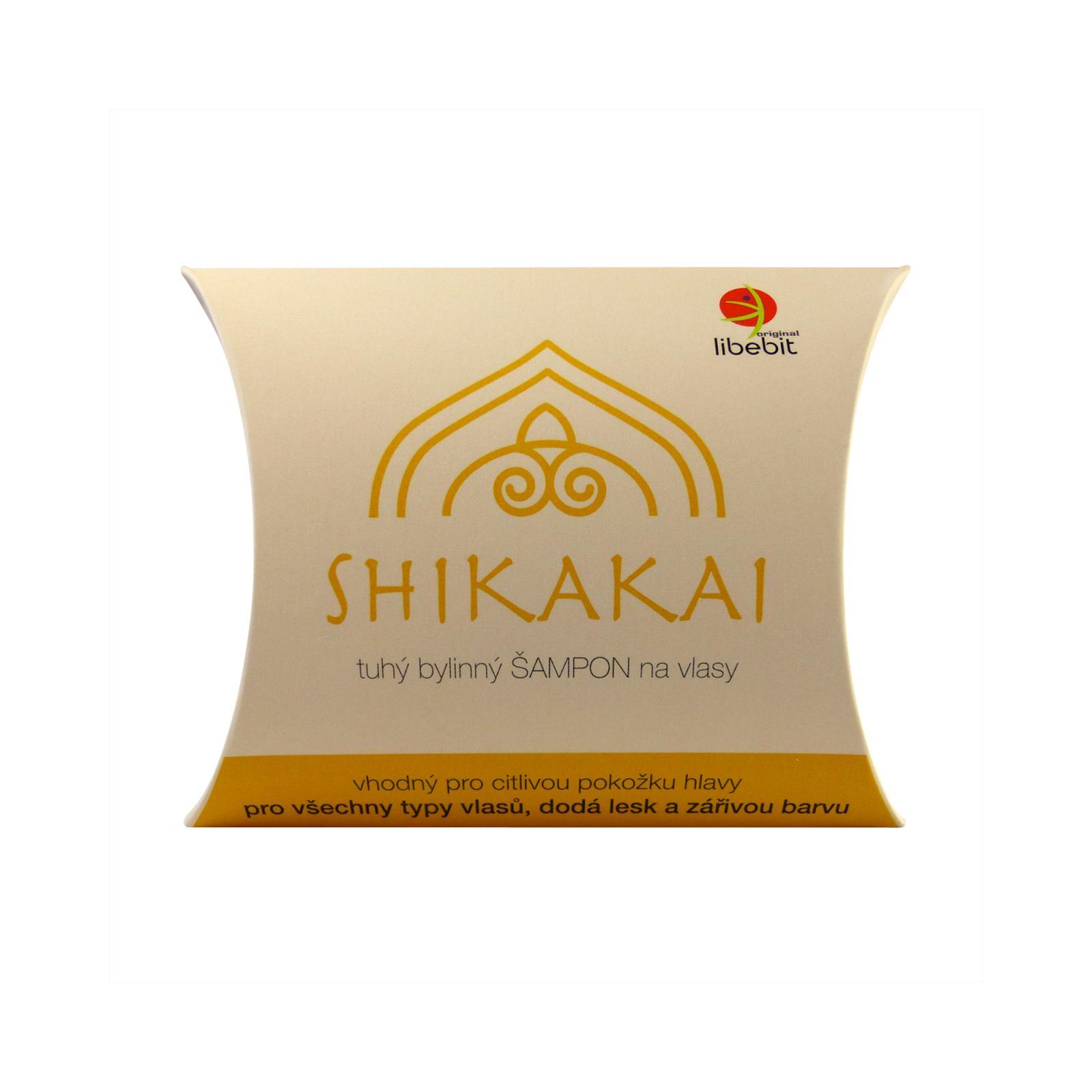Libebit Tuhý bylinný šampon SHIKAKAI 70 g