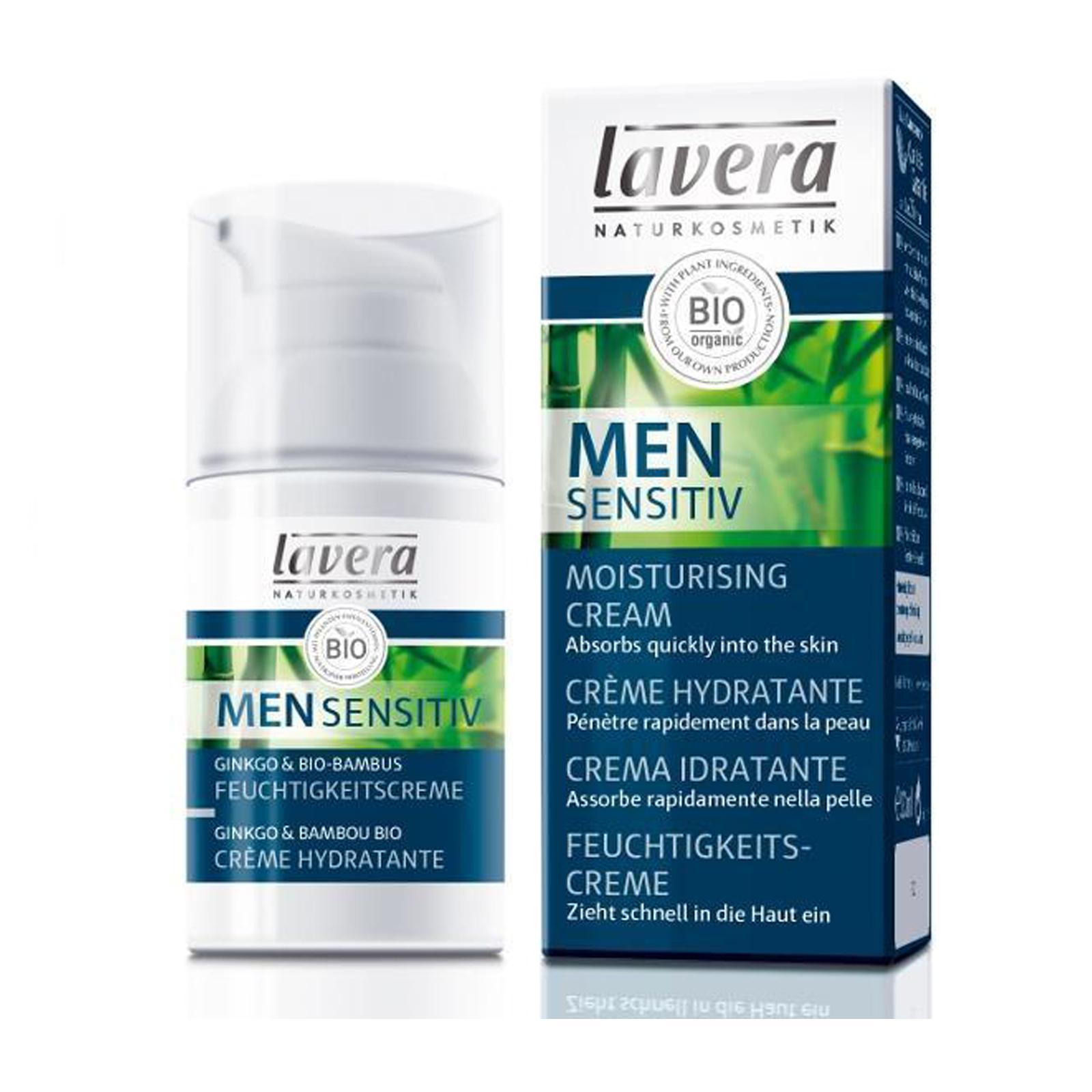 Lavera Krém hydratační vyživující, Men Sensitiv 30 ml