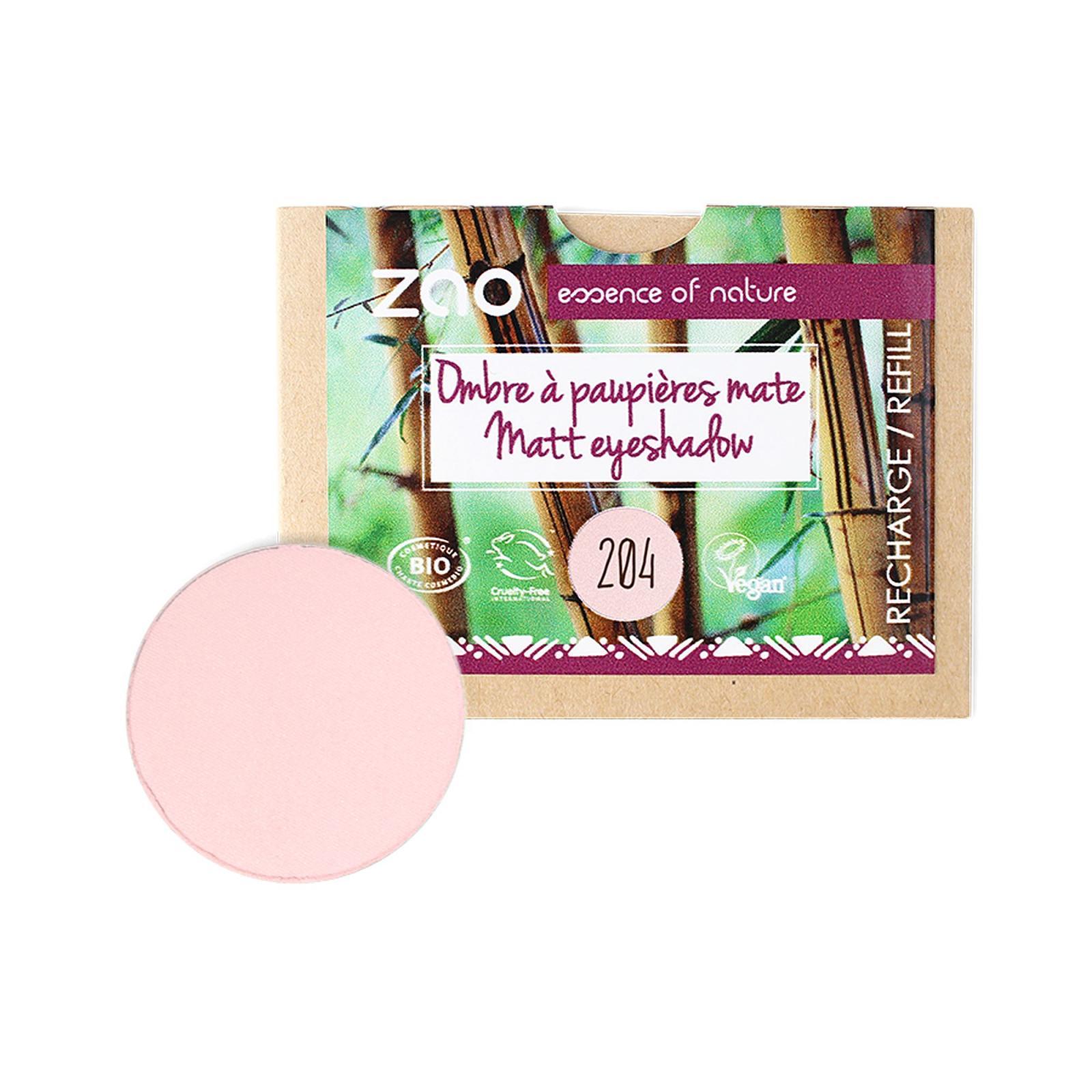 ZAO Matné oční stíny 204 Golden Old Pink 3 g náplň