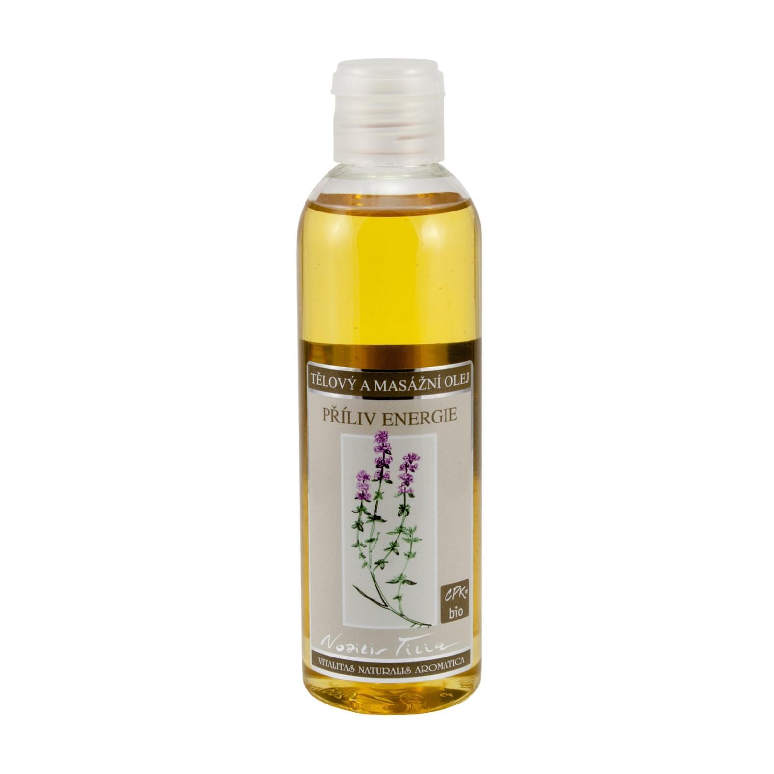 Nobilis Tilia Tělový a masážní olej Příliv energie 200 ml