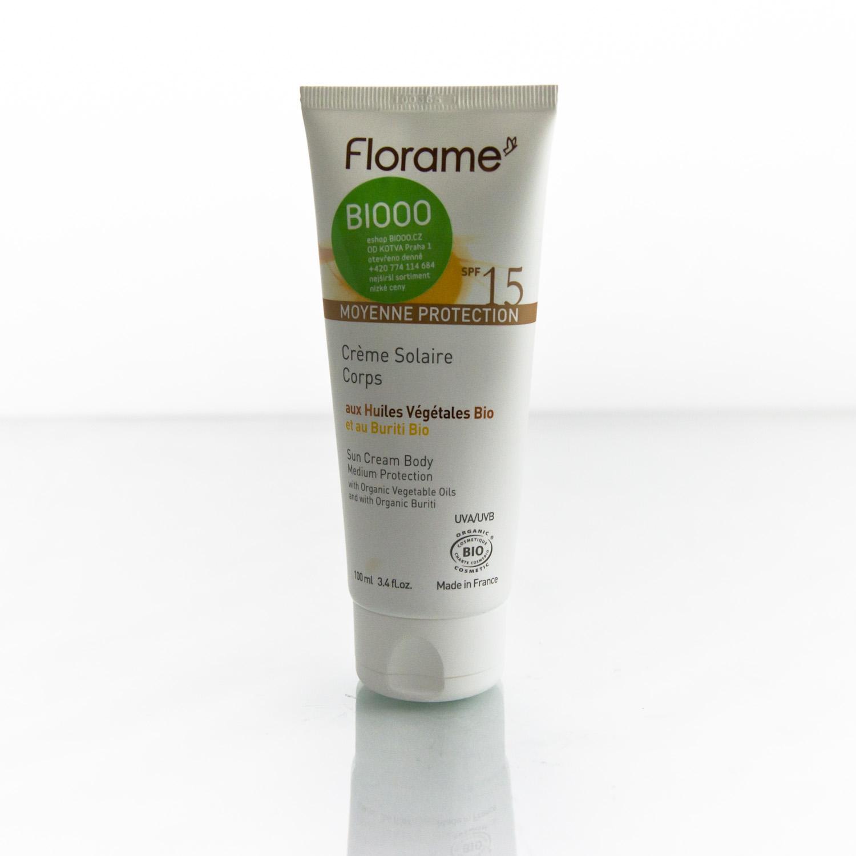 Florame Opalovací krém na tělo SPF 15 100 ml