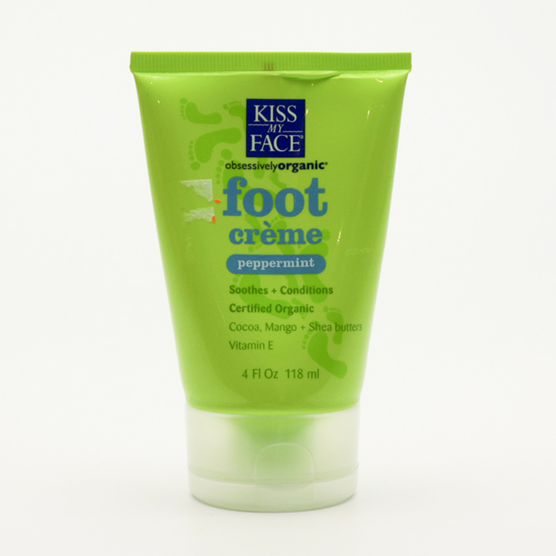 Kiss My Face Corp. Krém na nohy, Foot creme 118 ml