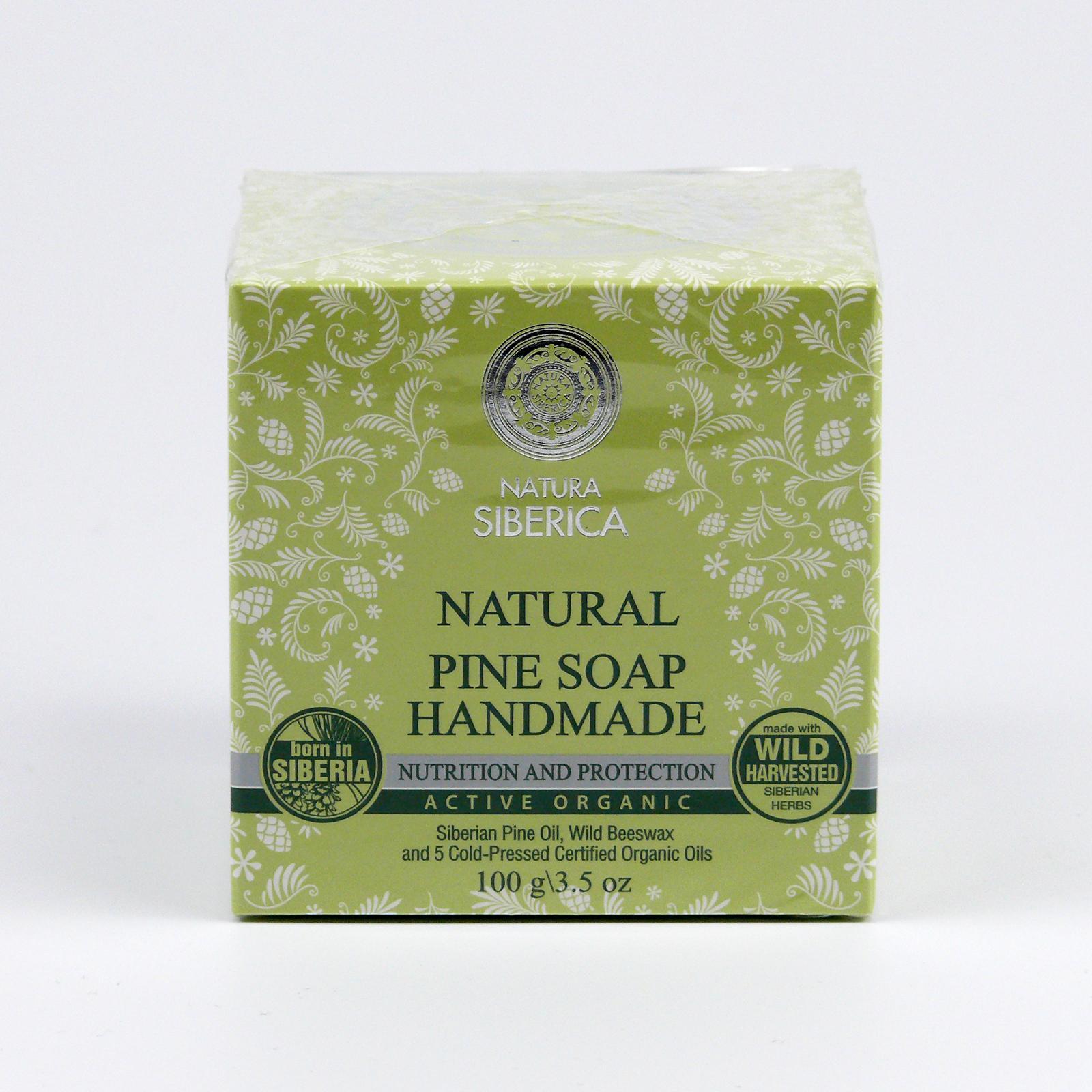Natura Siberica Borovicové ručně vyráběné mýdlo 100 g