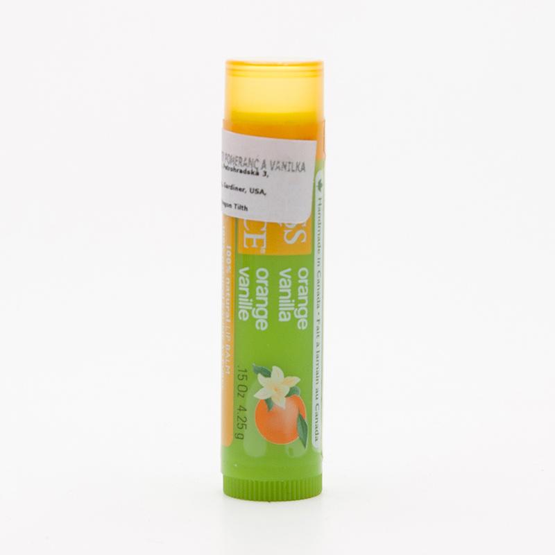 Kiss My Face Corp. Balzám na rty vanilka a pomeranč 4,25 g