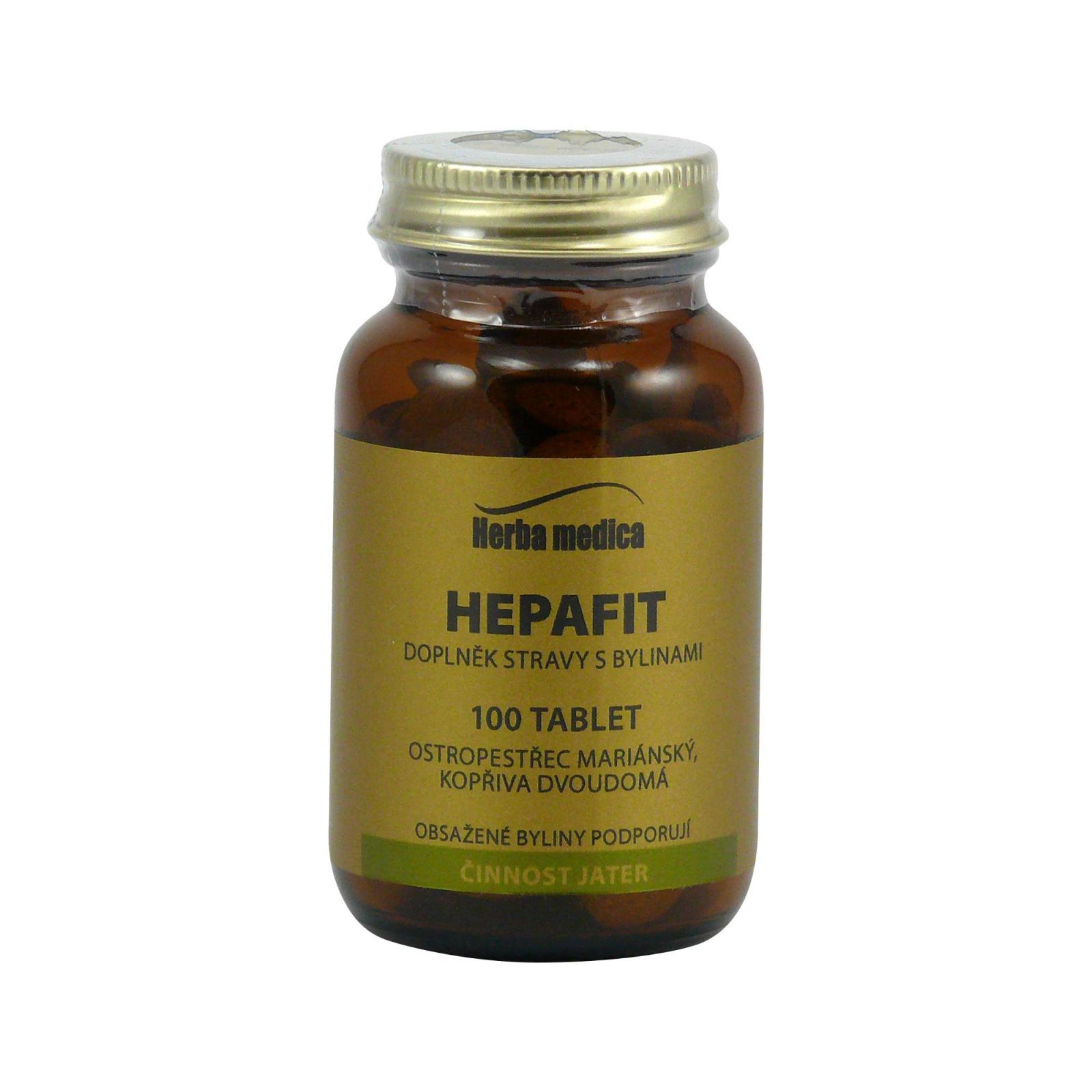 Herba Medica Hepafit 50 g,100 ks (tablet)