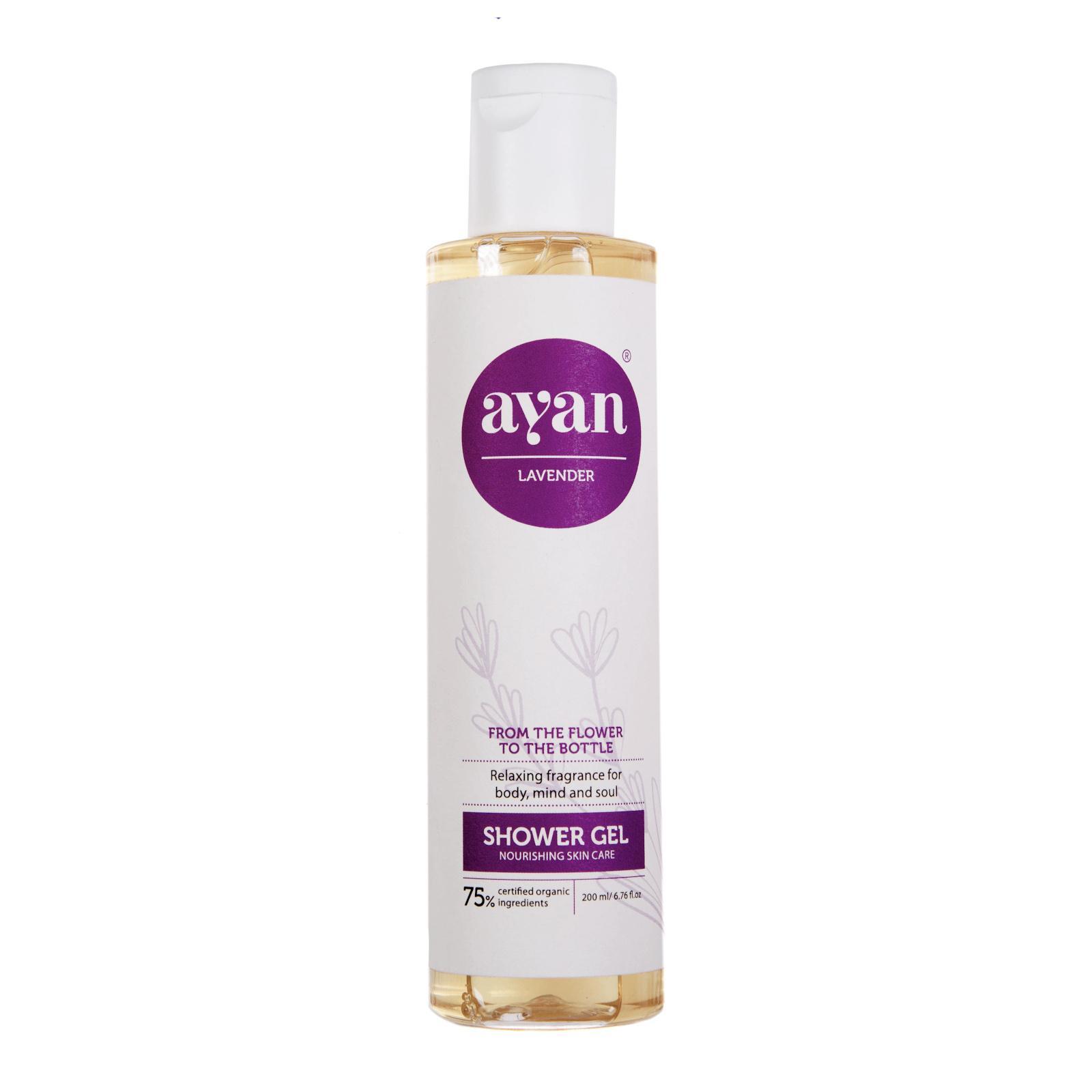 AYAN Levandulový sprchový gel 200 ml