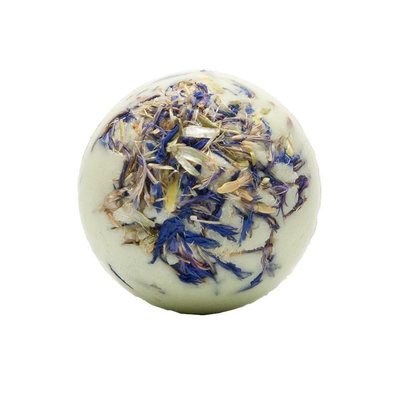 Ceano Cosmetics Krémová kulička do koupele chrpa 1 ks, 50 g