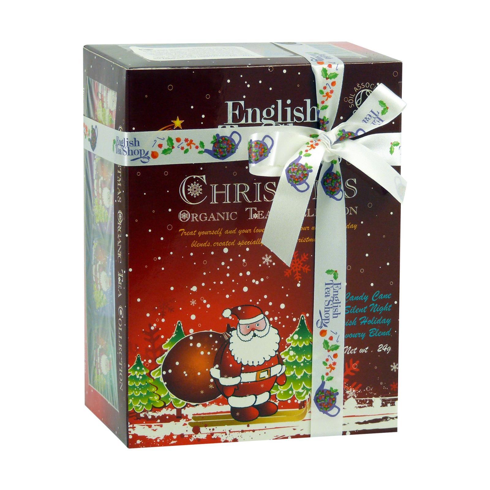 English Tea Shop Vánoční sada Červený Santa 12 ks, 24 g
