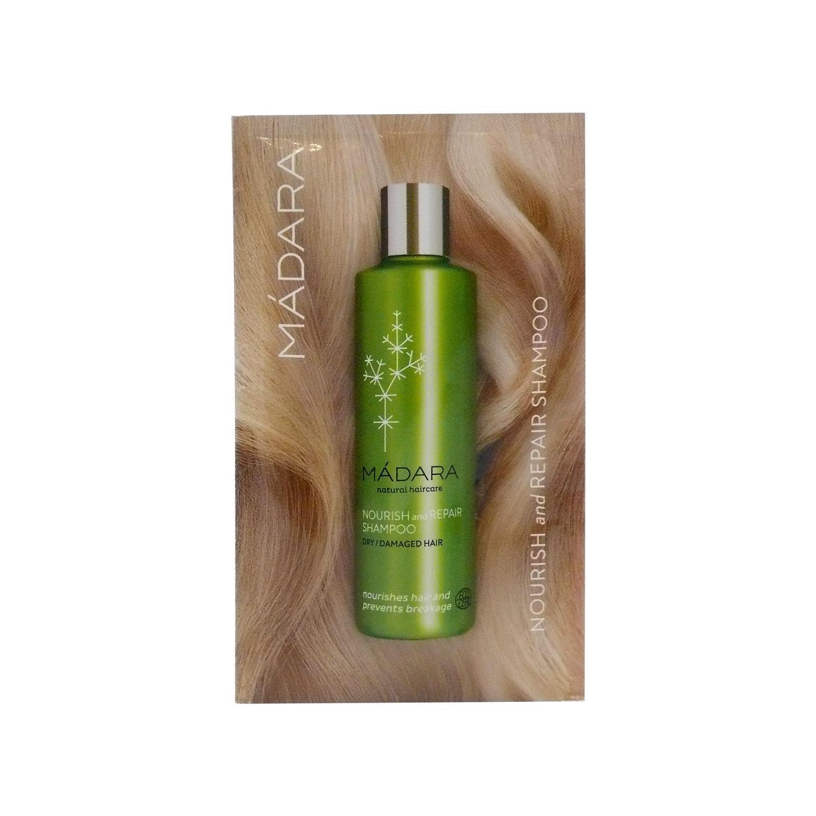 MÁDARA Šampon pro suché a poškozené vlasy 10 ml