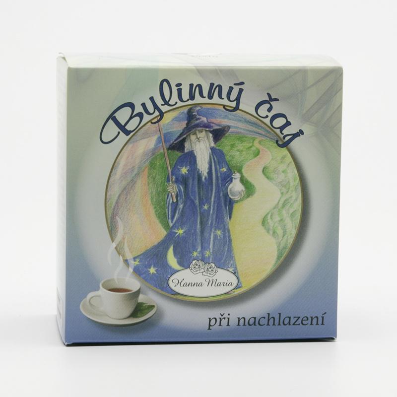 Hanna Maria x Bylinný čaj voda při nachlazení, princip 5 elementů 50 g
