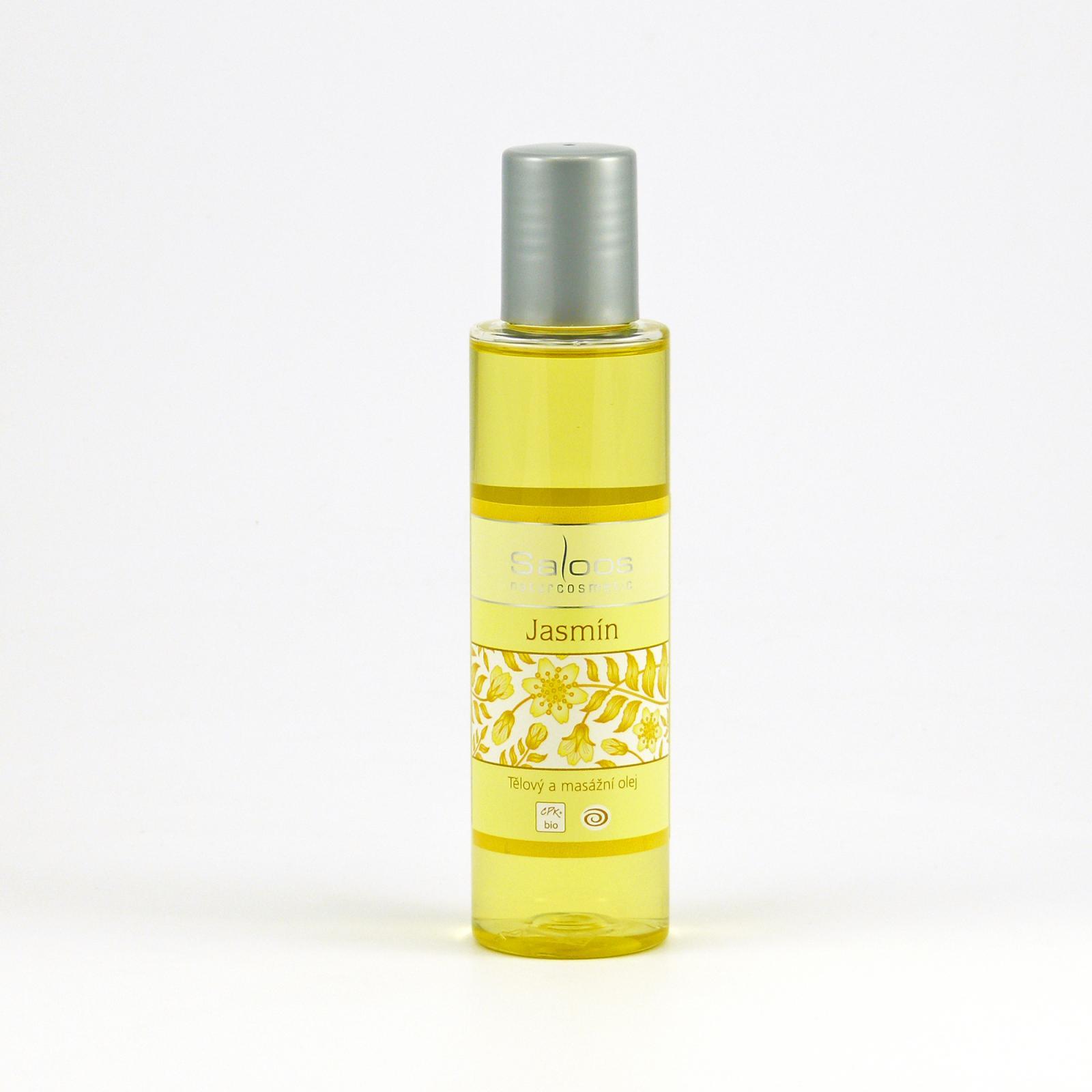 Saloos Masážní olej jasmín 125 ml