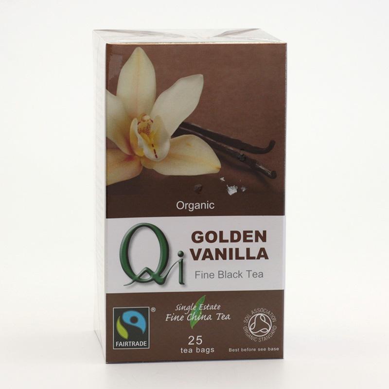 Herbal Health Výprodej Čaj Qi černý, golden vanilla