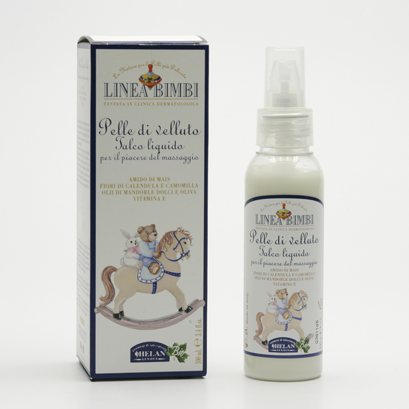 Hanna Maria Výprodej Hedvábný masážní tekutý pudr, Linea Bimbi 100 ml