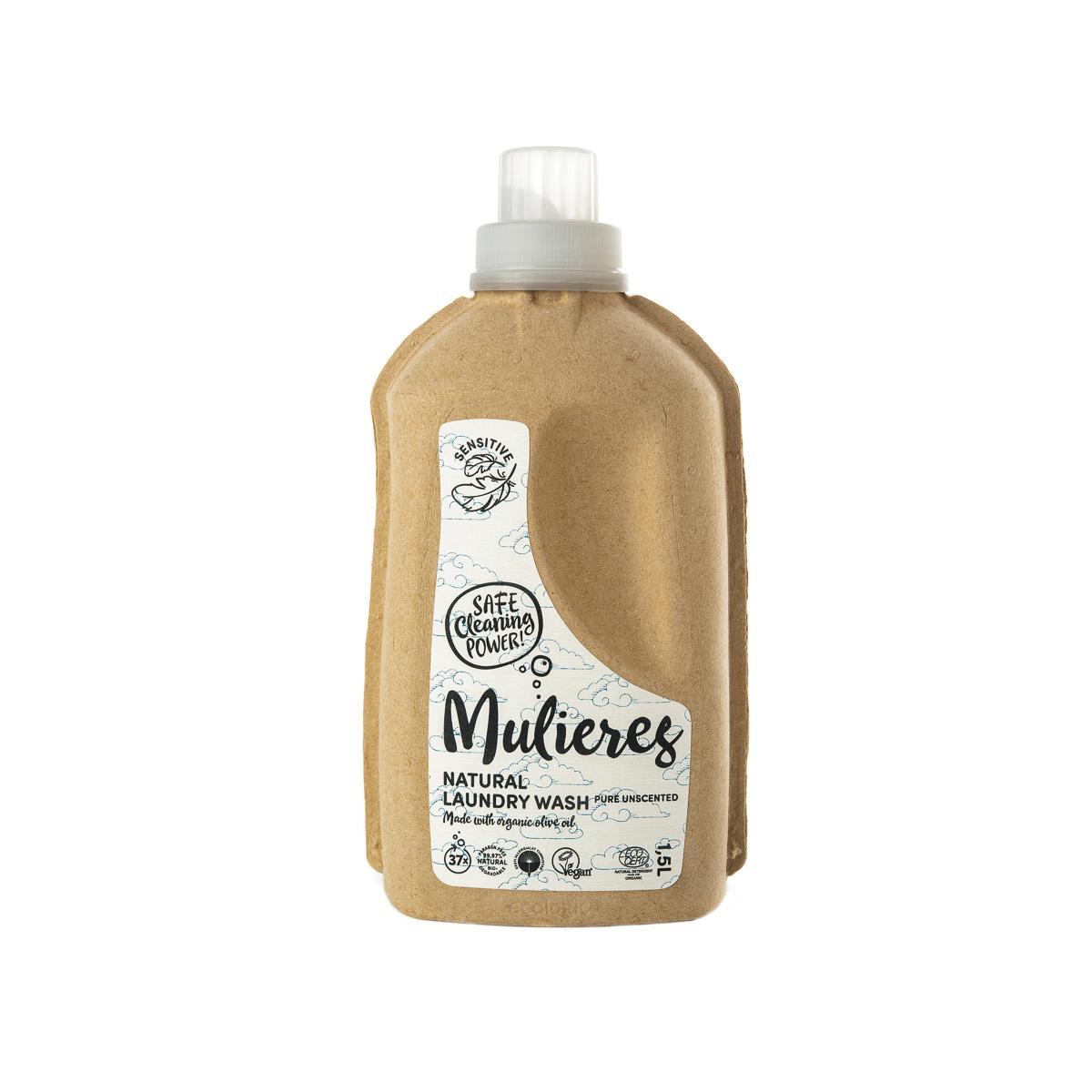 Mulieres Koncentrovaný prací gel, Bez vůně 1,5 l
