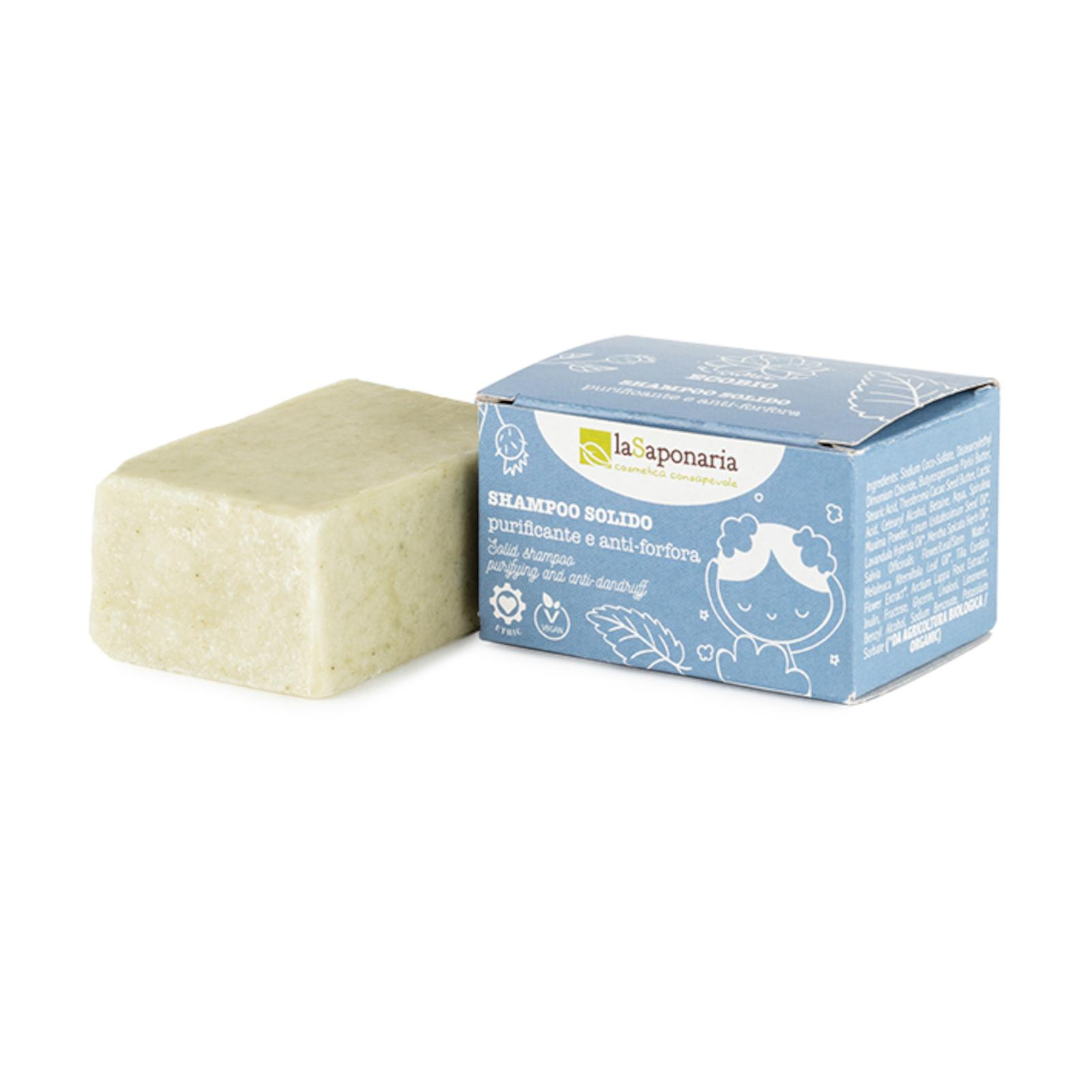 laSaponaria Tuhý šampon čisticí proti lupům BIO 50 g