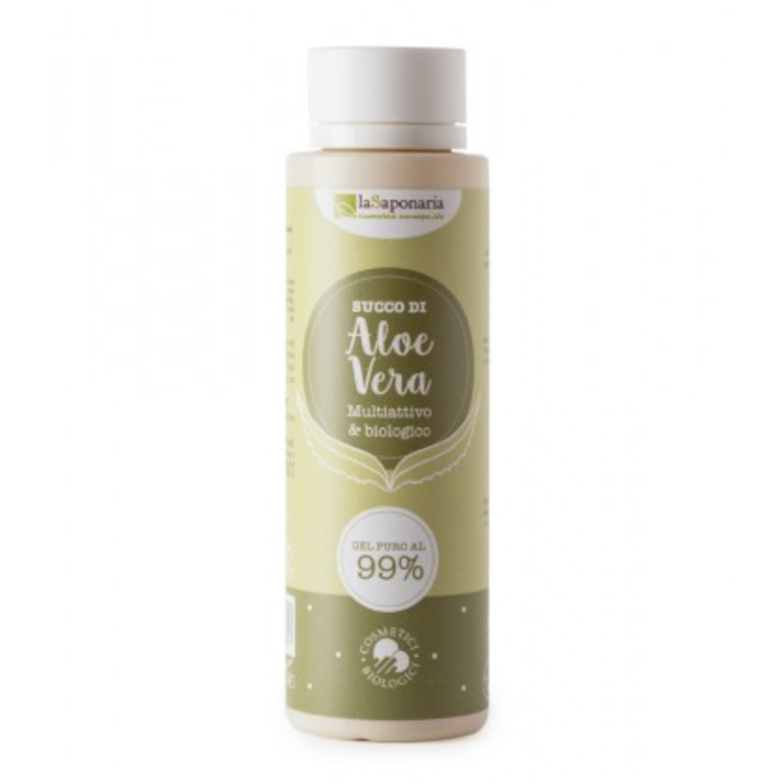 laSaponaria 99% Aloe vera gel na tělo a vlasy 150 ml