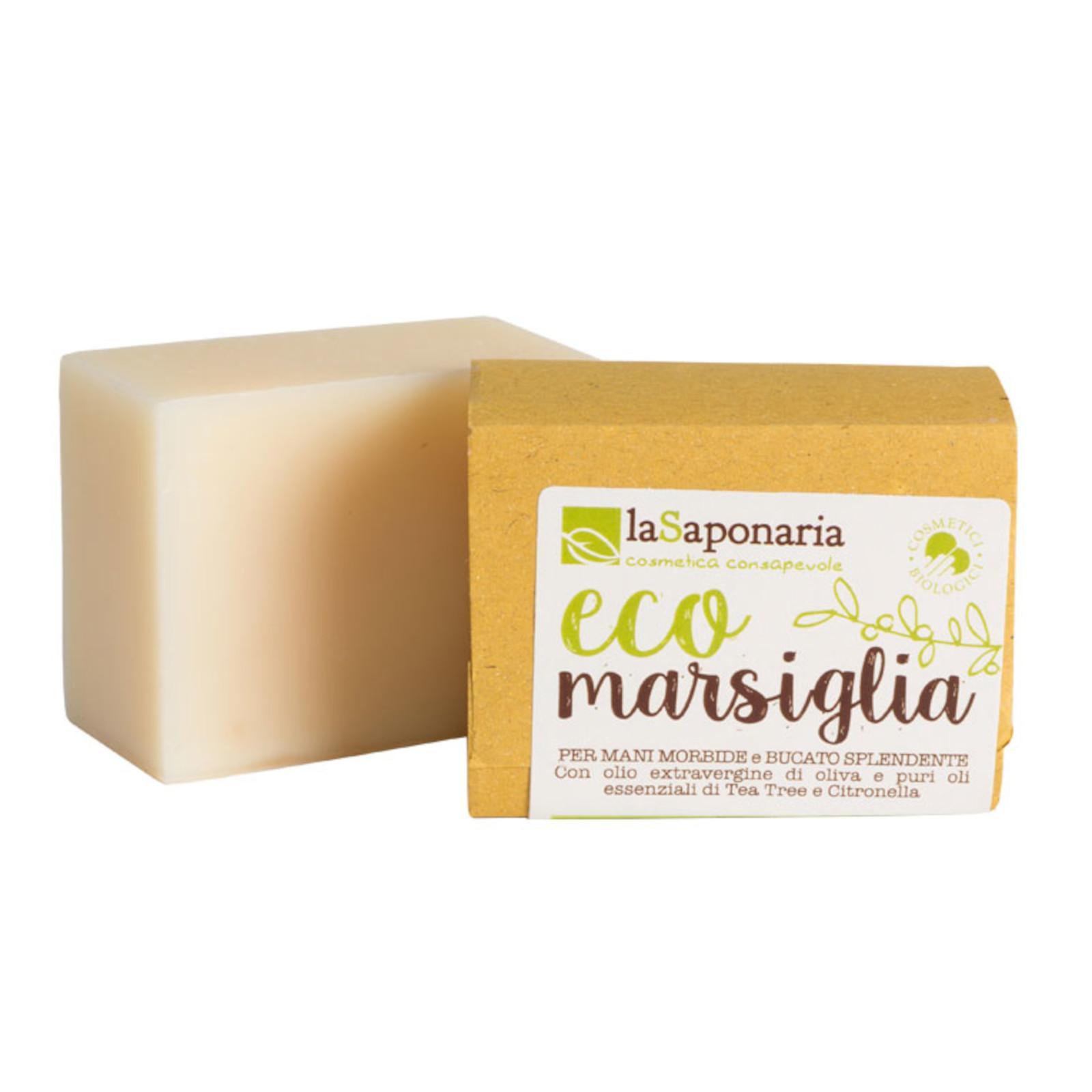 laSaponaria Marseillské mýdlo na ruční praní BIO 200 g