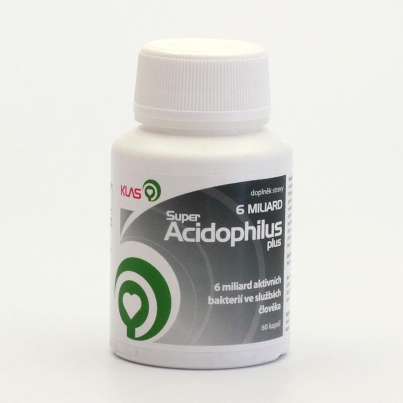Klas x Super Acidophilus plus, 6 miliard 60 kapslí