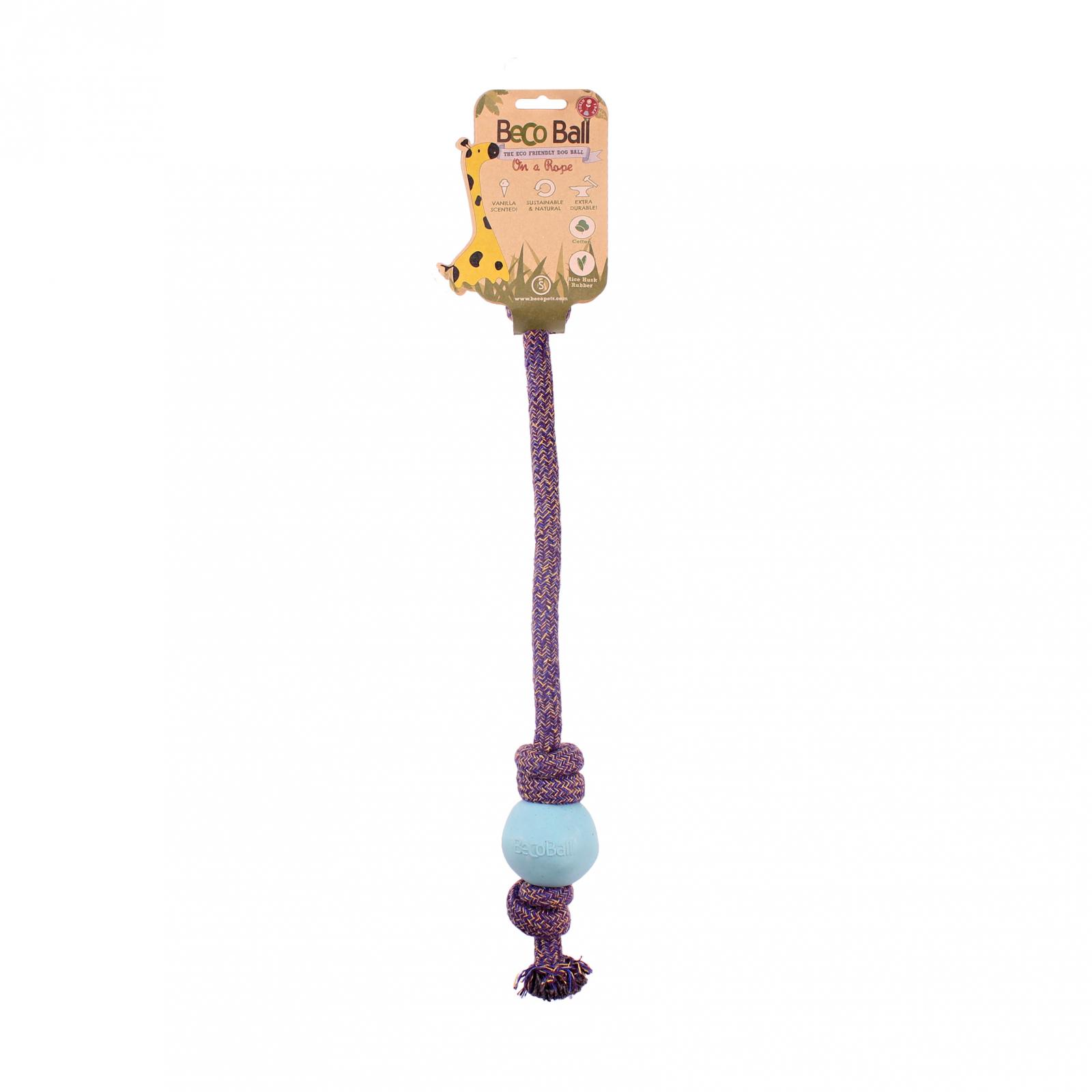 Beco Pets Beco Rope Ball Small 1 ks, modrá