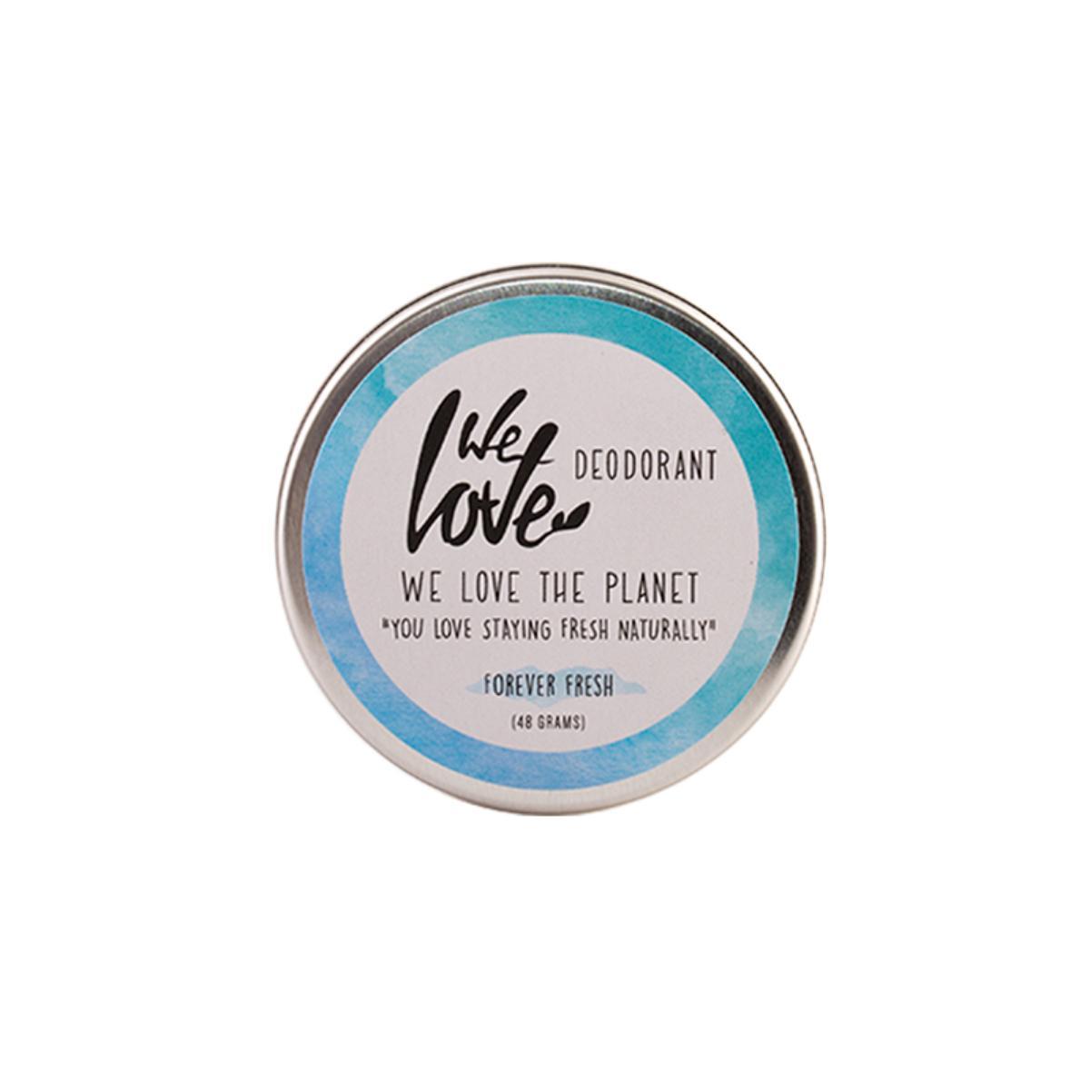 We Love The Planet Přírodní krémový deodorant, Forever Fresh 48 g
