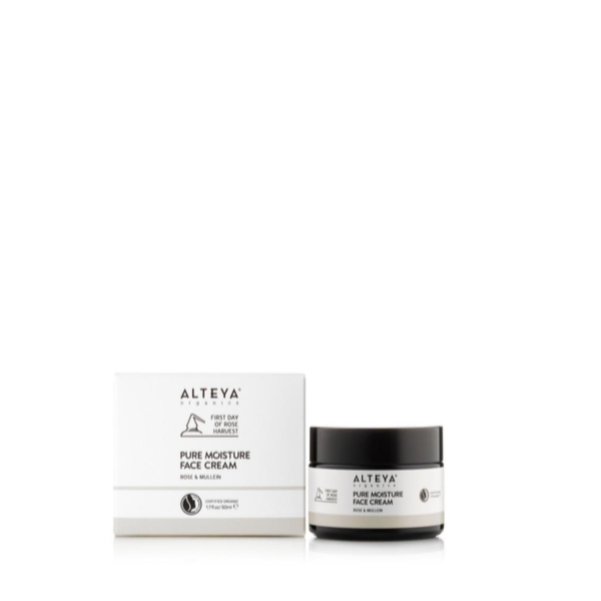 Alteya Organics Hydratační krém na obličej Rose & Mullein 50 ml