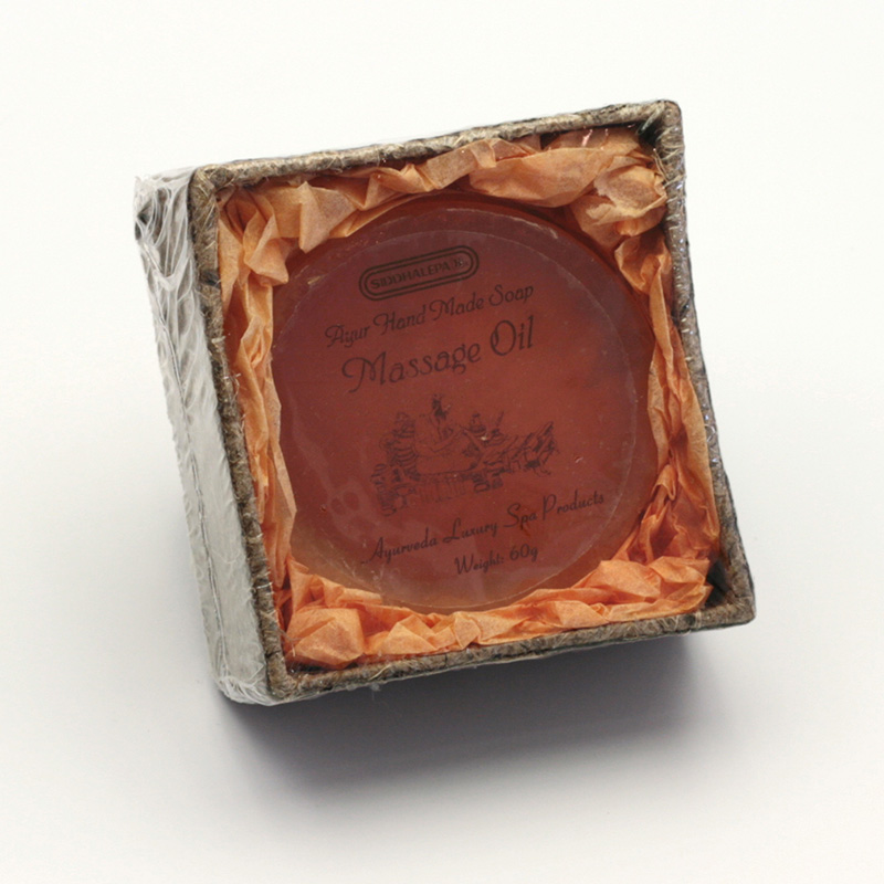 Siddhalepa Mýdlo Massage Oil, Ayurveda Luxury Spa 60 g