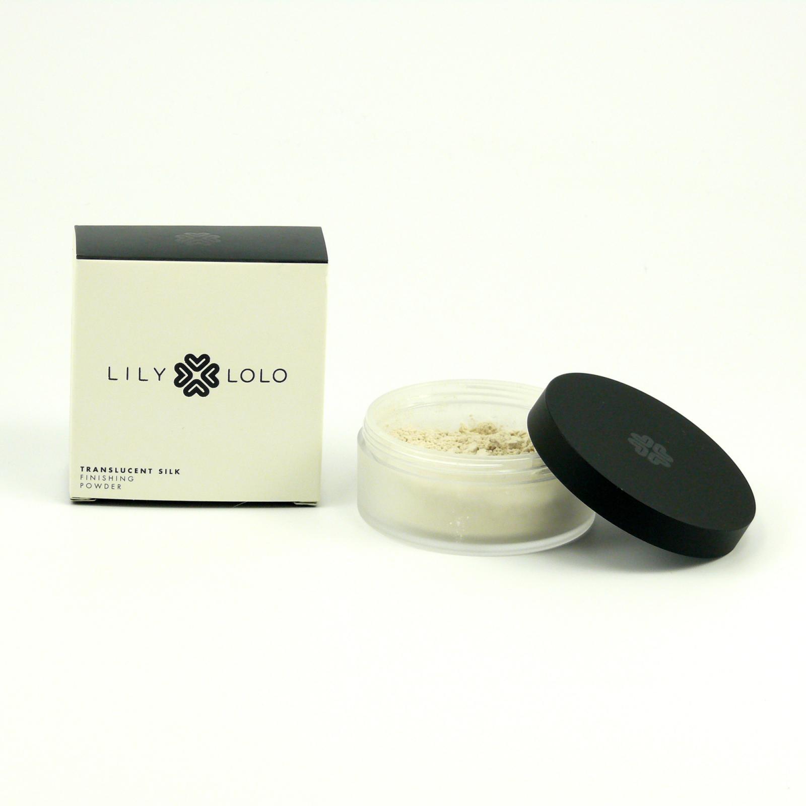 Lily Lolo Mineral Cosmetics Minerální fixační pudr Translucent Silk 4,5 g