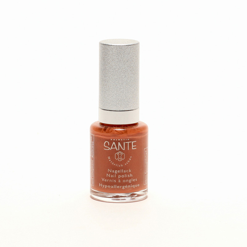 Santé x Lak na nehty Shiny Copper, 16 10 ml