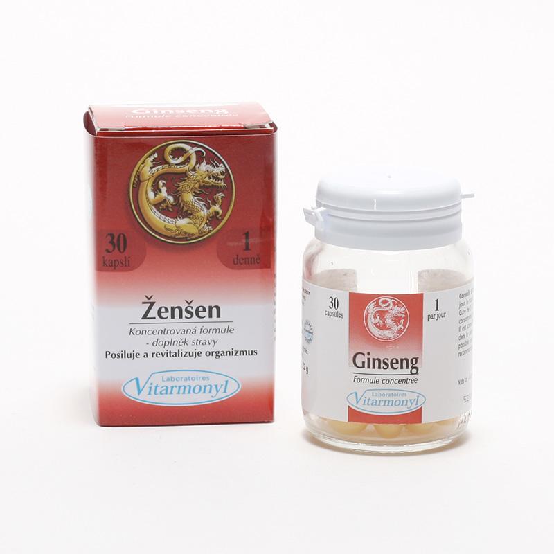 Laboratoires Vitarmonyl Ženšen 30 kapslí, 22 g
