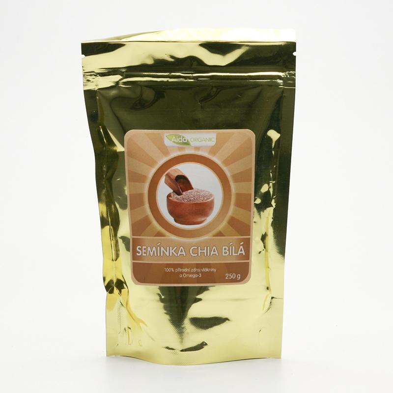 Aida Organic Chia semínka bílá 250 g