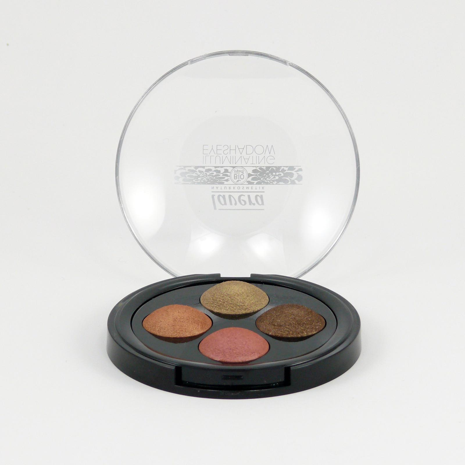 Lavera Třpytivé oční stíny QUATRO 03 indiánský sen, Trend Sensitive 2014 2 g