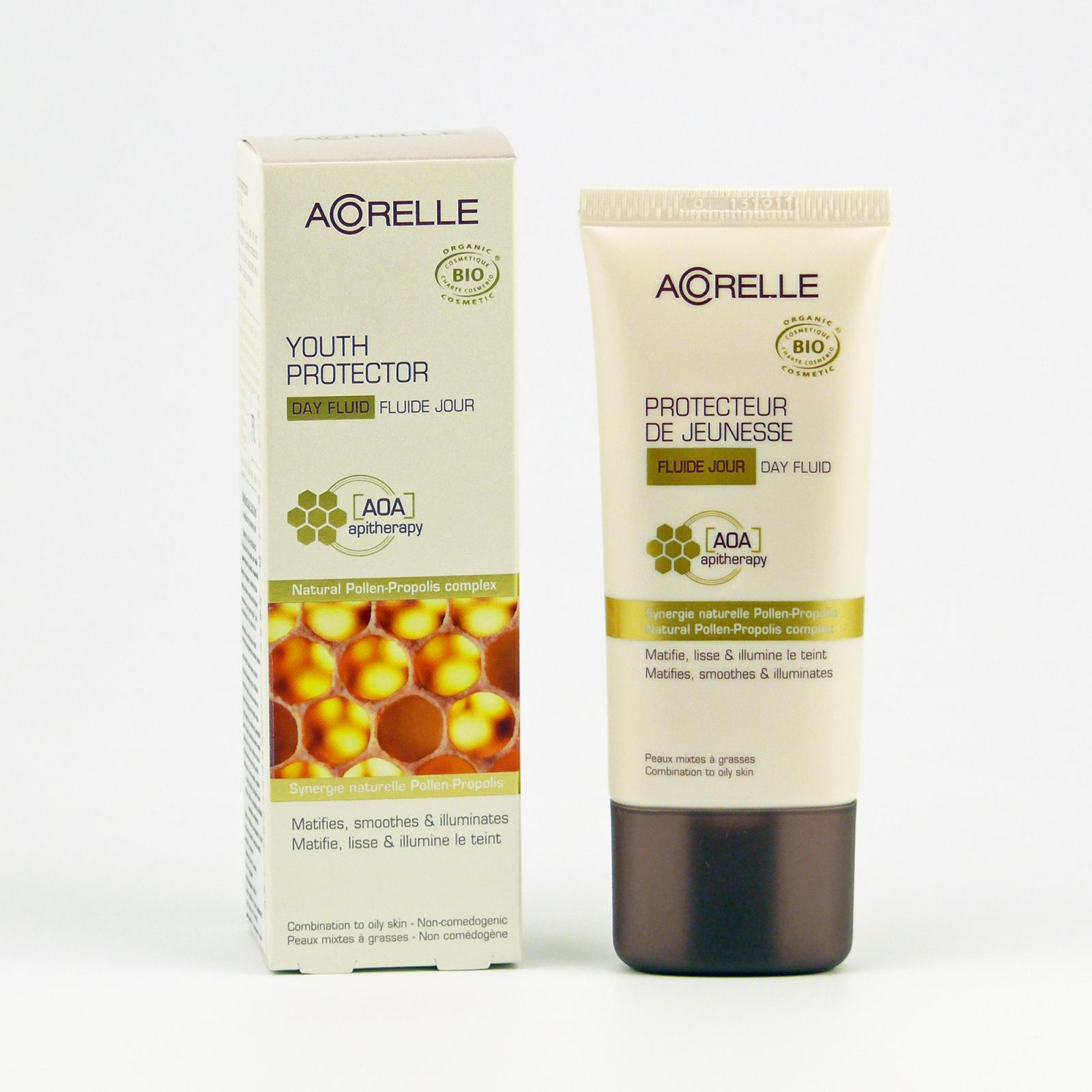 Acorelle Denní fluid s propolisem, Komplex AOA 50 ml