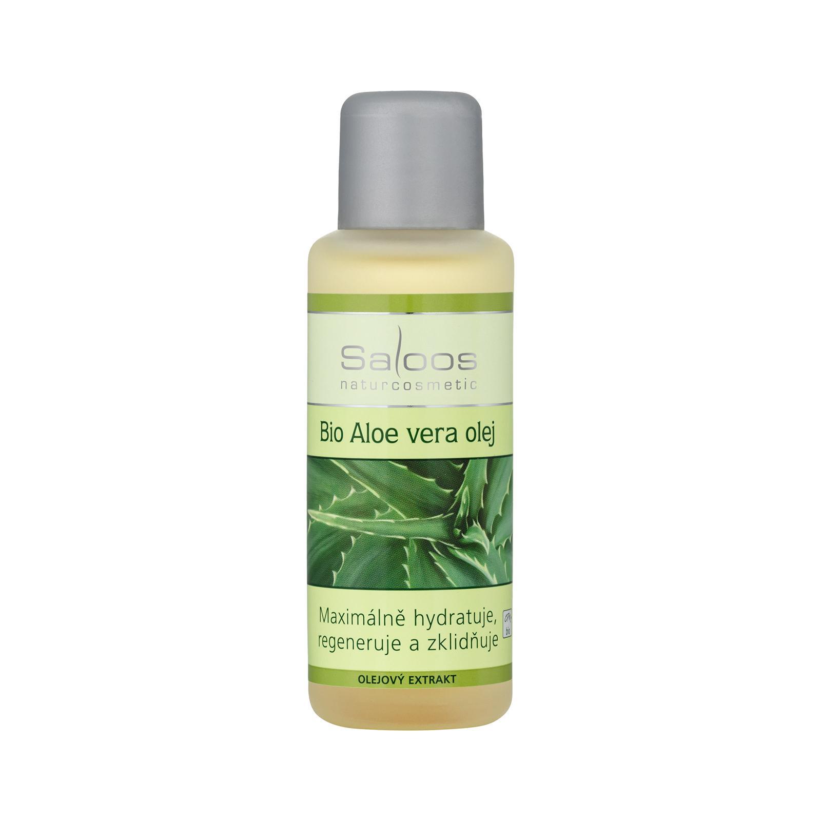 Saloos Bio Aloe Vera olej - olejový extrakt 50 ml