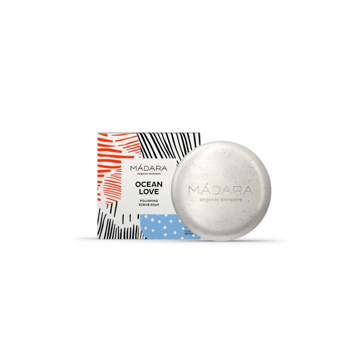 MÁDARA OCEAN LOVE Polishing Scrub Soap, čisticí mýdlo 90 g