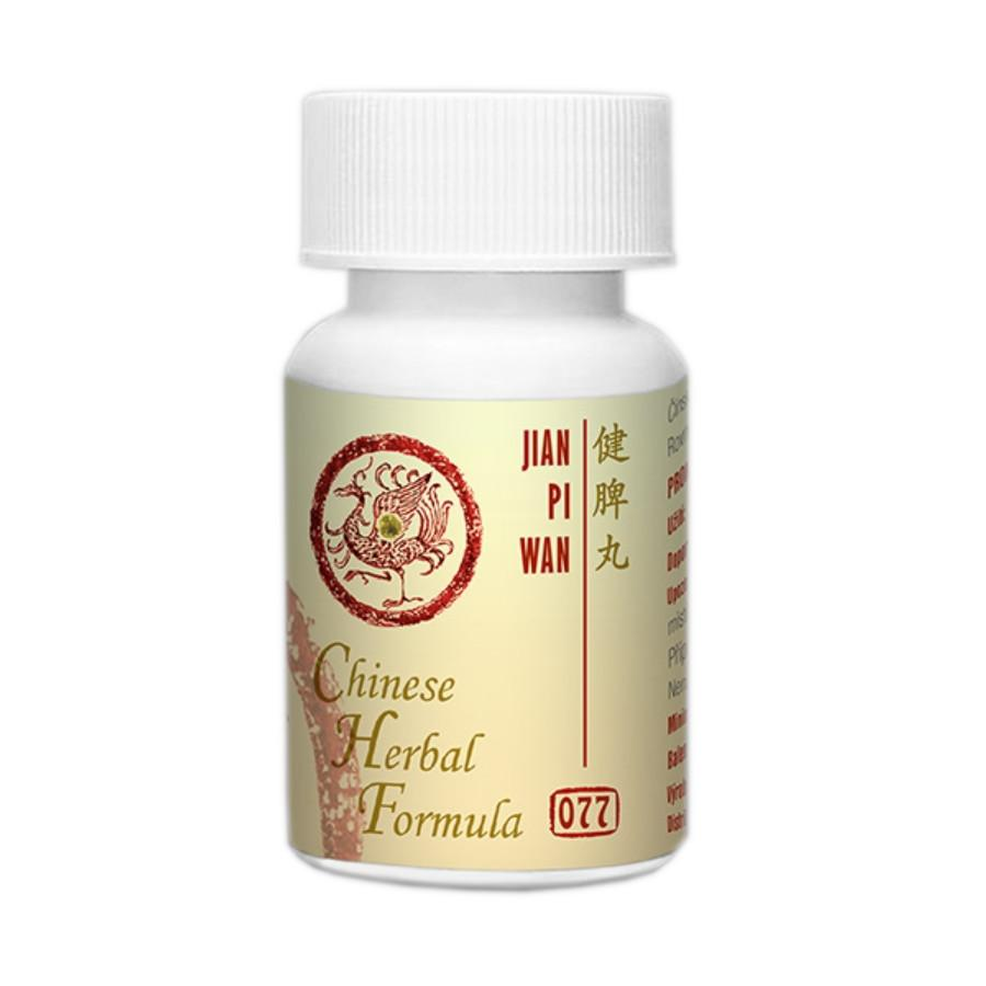 Lanzhou Pharmaceutical TCM formule 077 Jian Pi Wan 192-200 kuliček, 33 g
