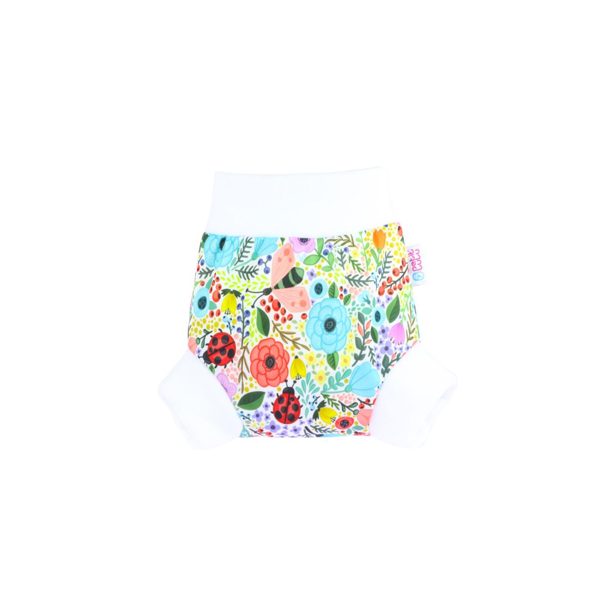 Petit Lulu Pull-up svrchní kalhotky, vel. M 1 ks, Rozkvetlá zahrada
