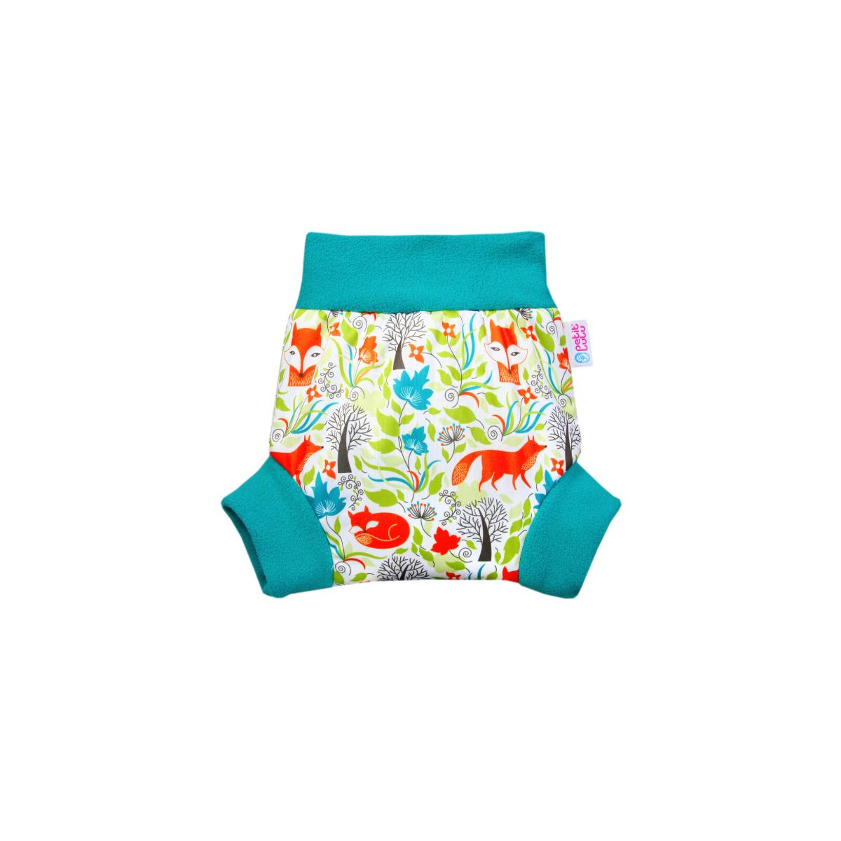 Petit Lulu Pull-up svrchní kalhotky, vel. L 1 ks, Lišky