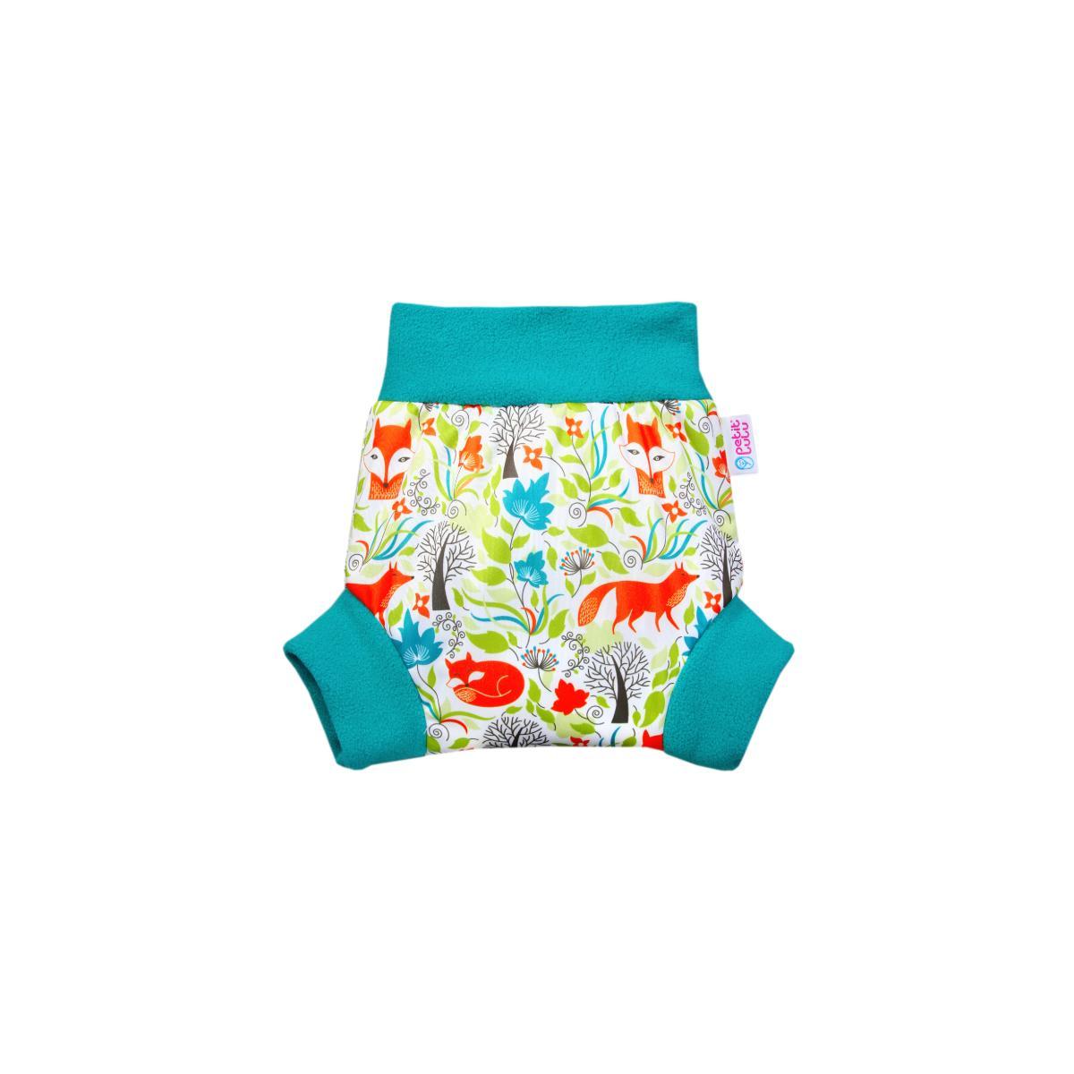 Petit Lulu Pull-up svrchní kalhotky, vel. XL 1 ks, Lišky